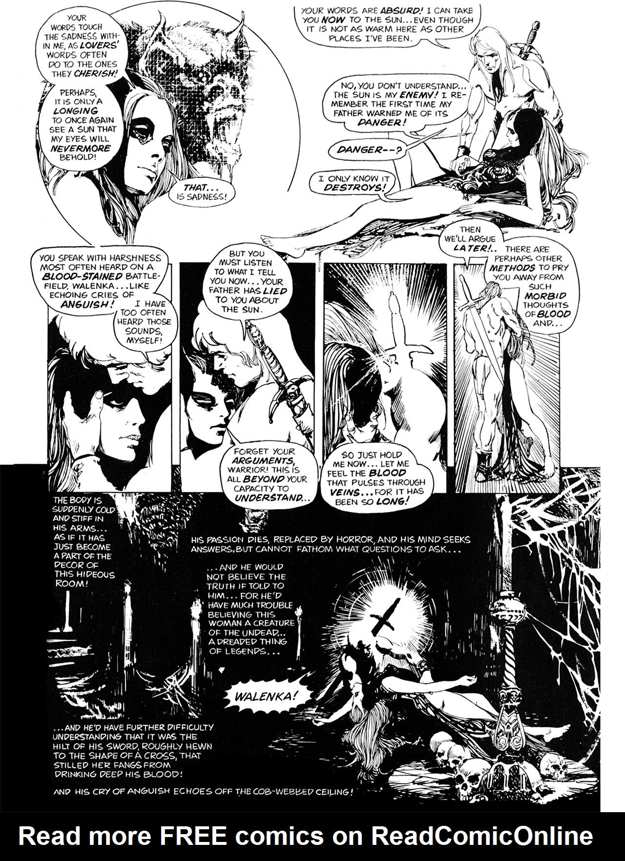 Read online Eerie Archives comic -  Issue # TPB 10 - 191