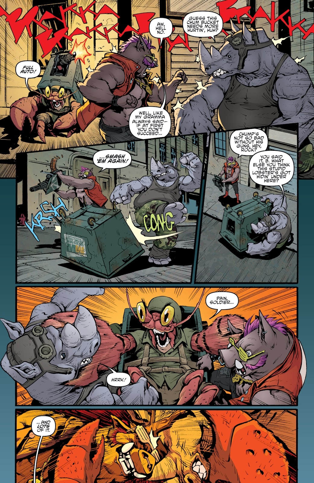 Read online Teenage Mutant Ninja Turtles: The IDW Collection comic -  Issue # TPB 5 (Part 2) - 58