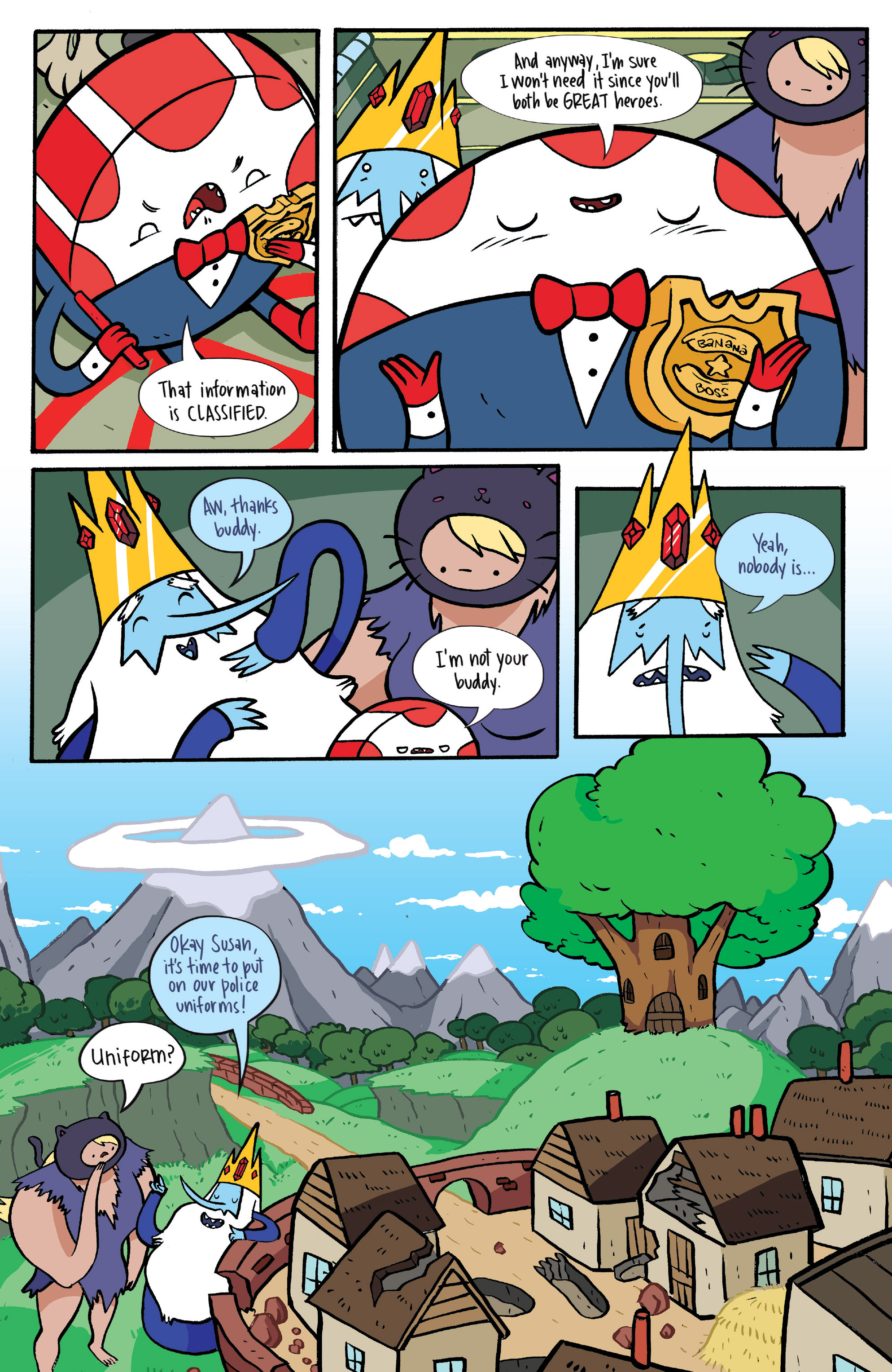 Read online Adventure Time: Candy Capers comic -  Issue #4 - 21