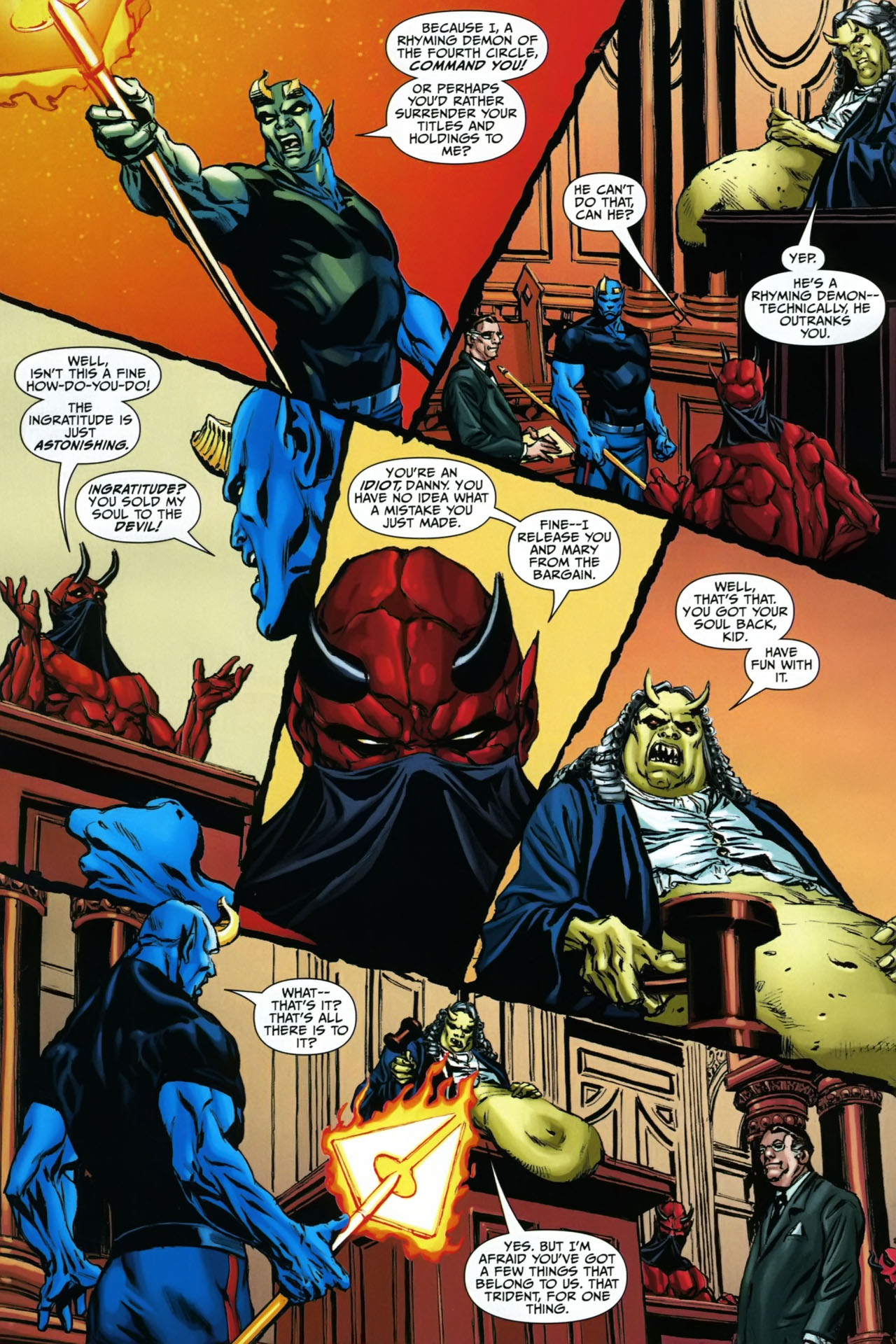 Read online Shadowpact comic -  Issue #23 - 18