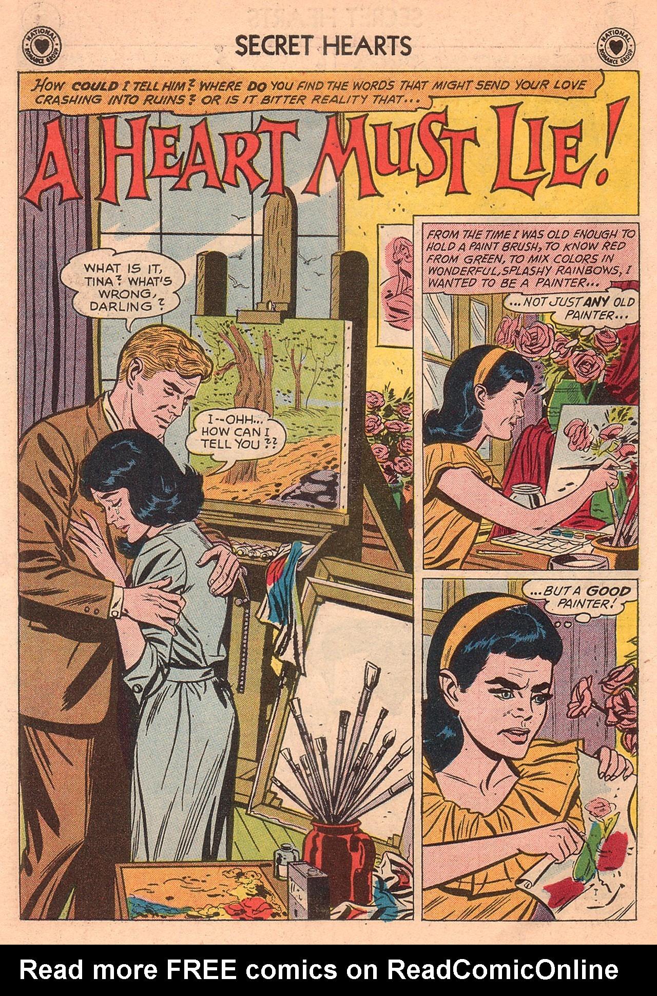 Read online Secret Hearts comic -  Issue #74 - 18
