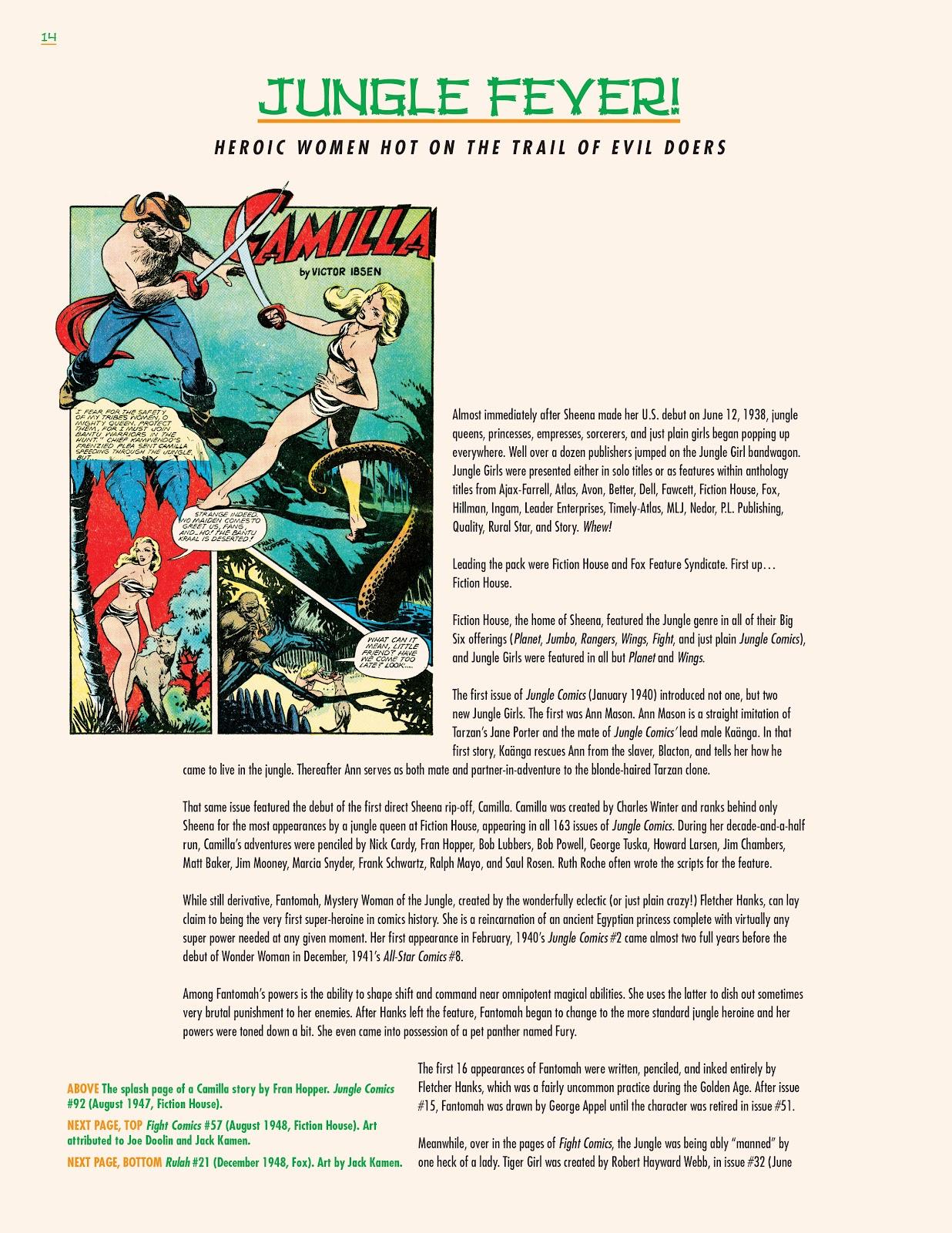 Read online Jungle Girls comic -  Issue # TPB (Part 1) - 16