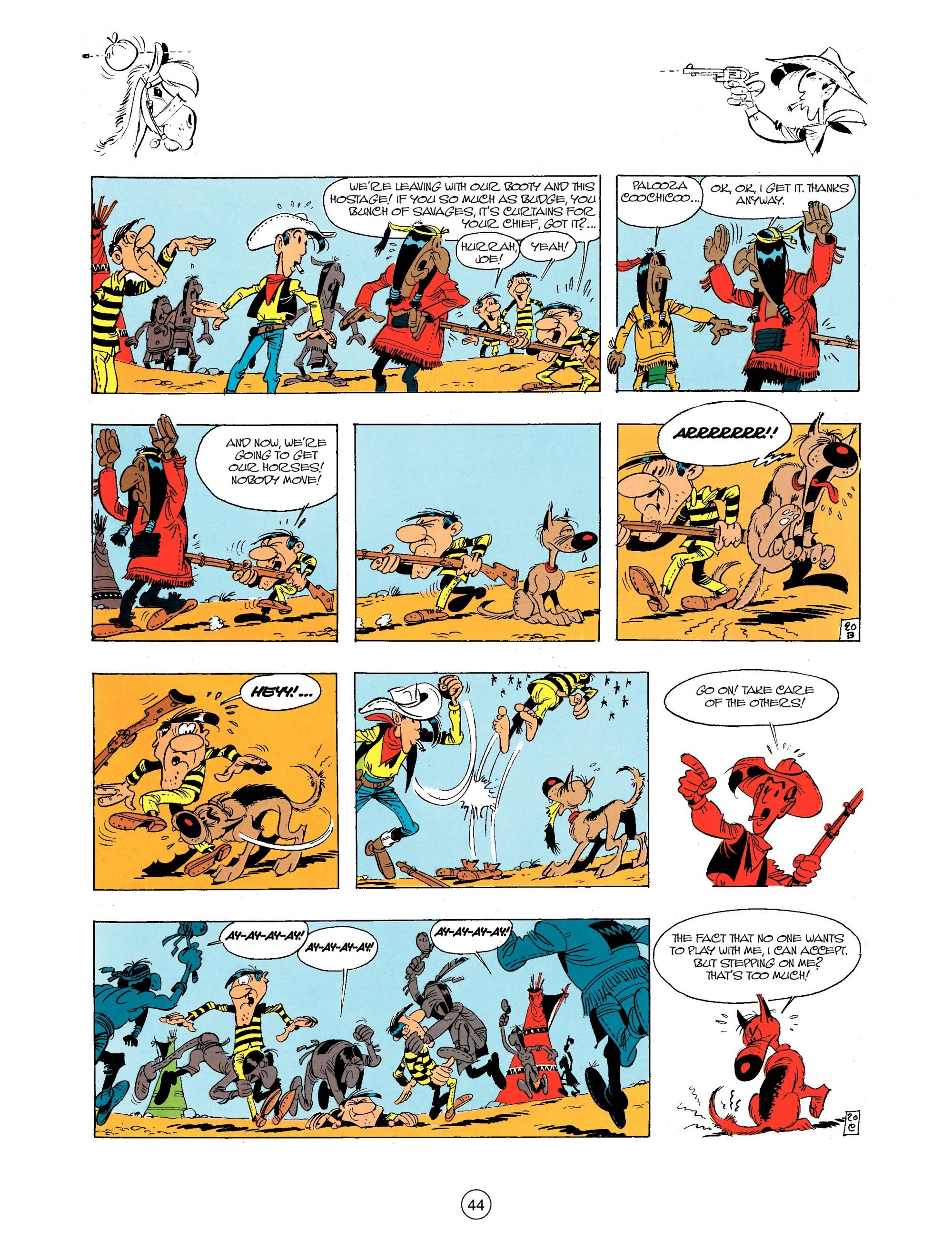 Read online A Lucky Luke Adventure comic -  Issue #34 - 44