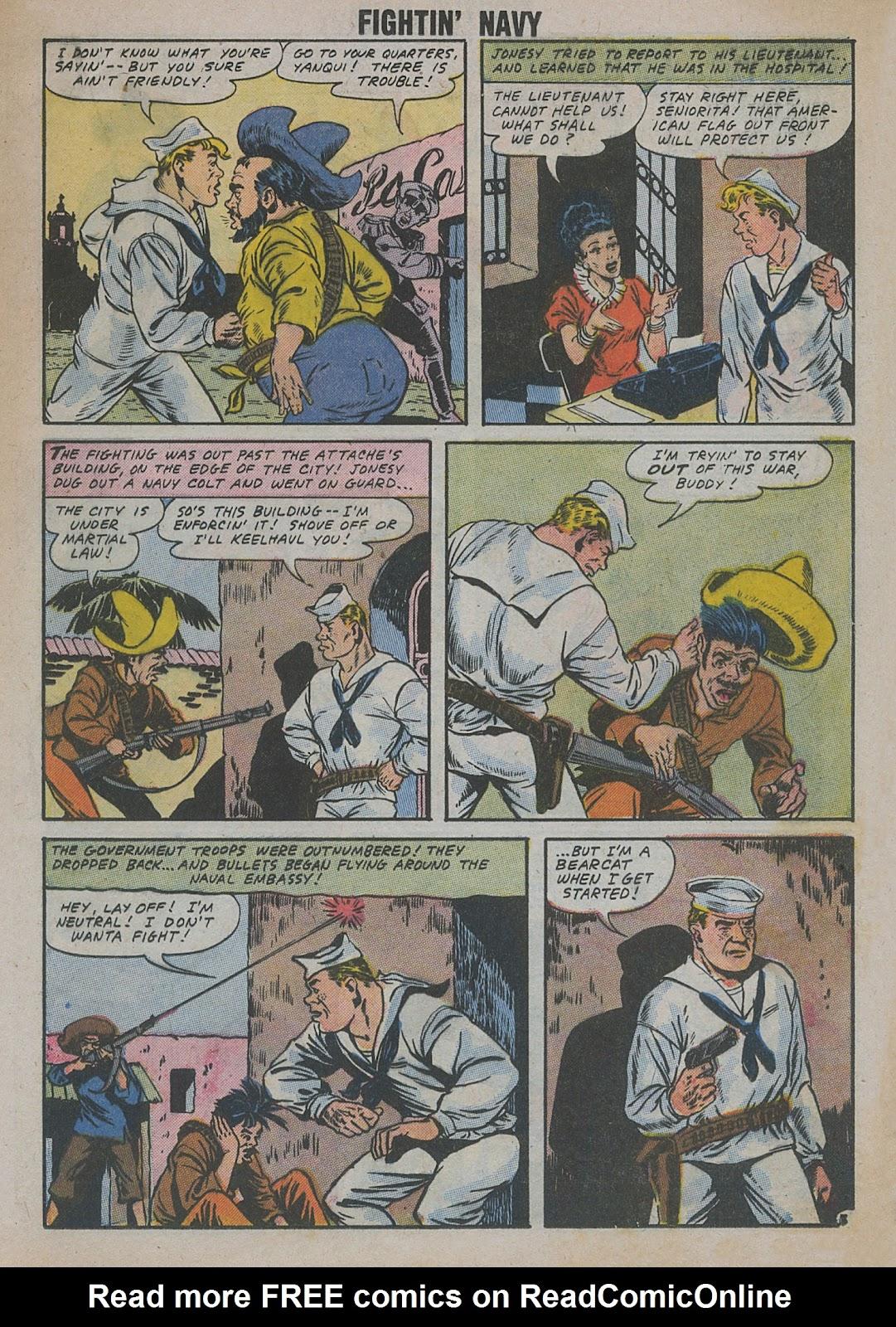 Read online Fightin' Navy comic -  Issue #82 - 31