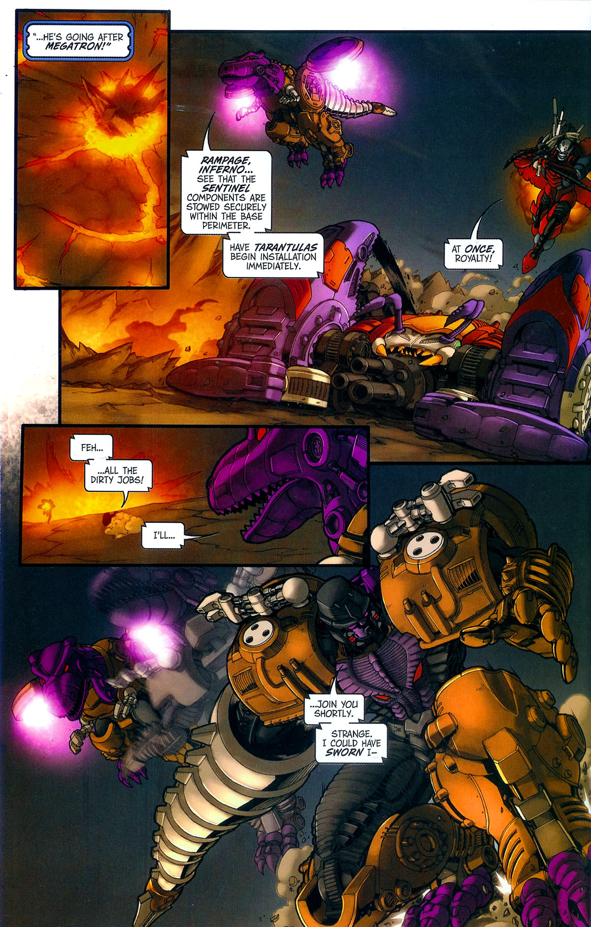 Read online Transformers, Beast Wars: The Gathering comic -  Issue #3 - 17