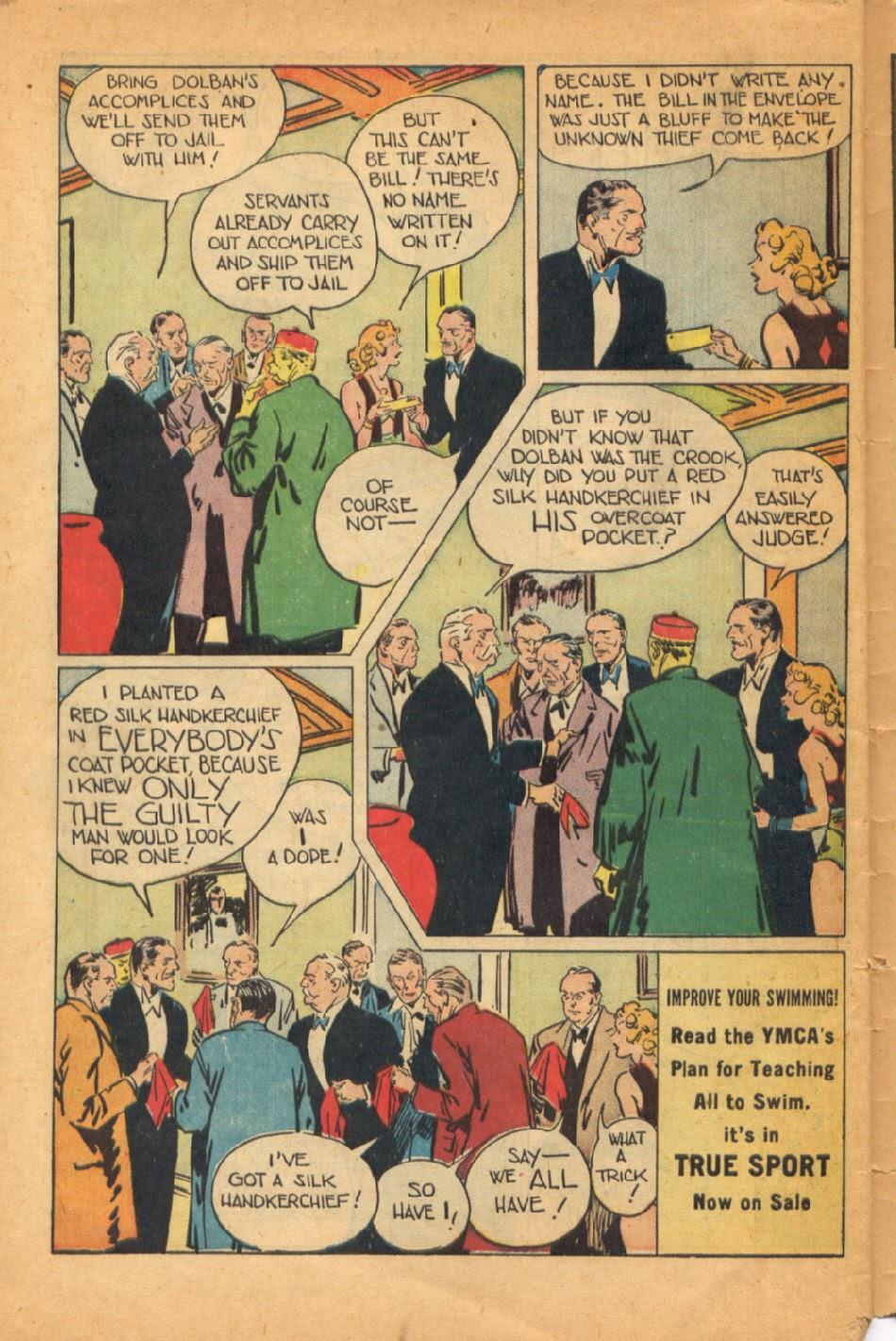 Read online Super-Magician Comics comic -  Issue #52 - 47