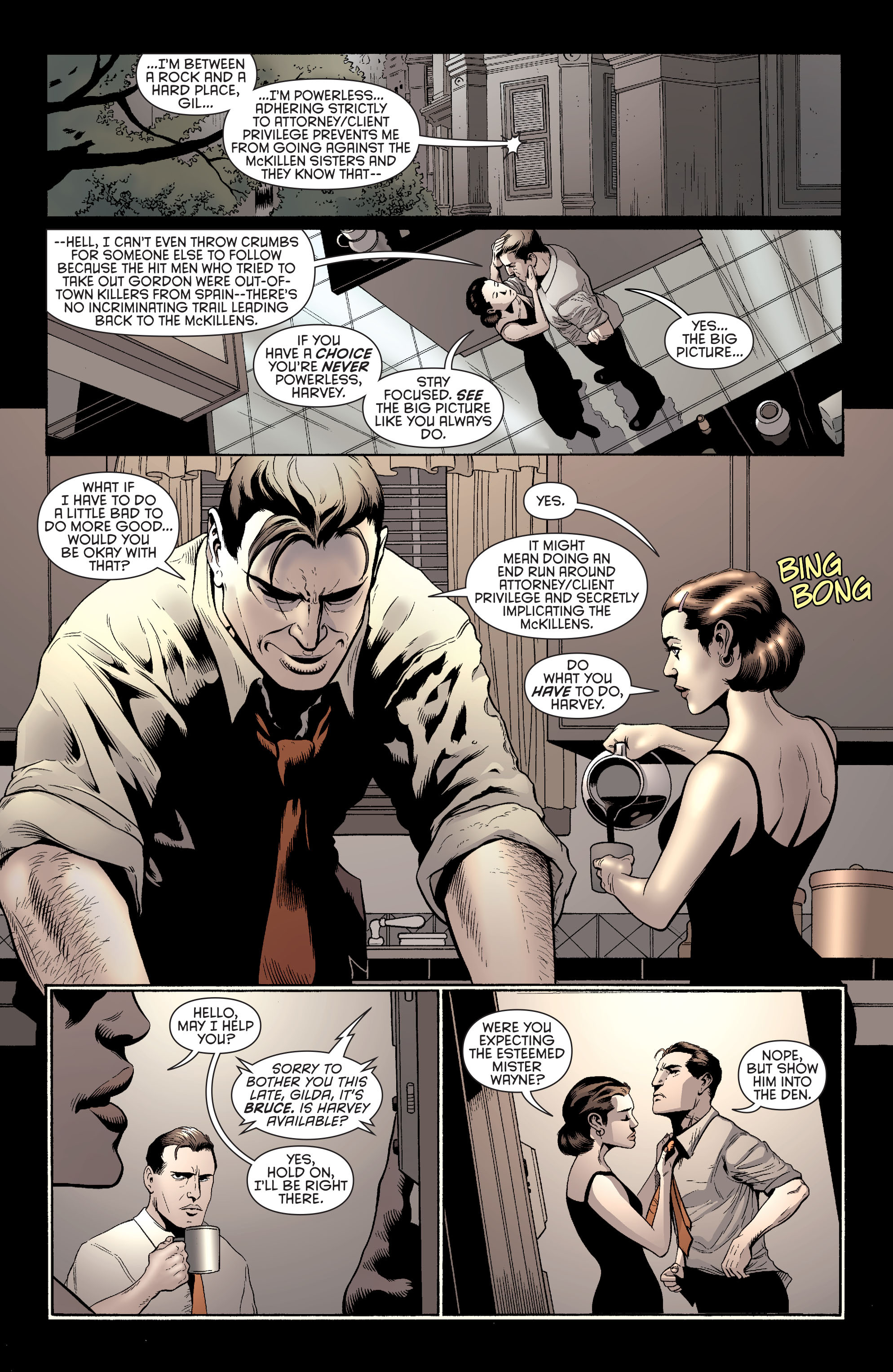 Read online Batman and Robin (2011) comic -  Issue #27 - Batman and Two-Face - 16