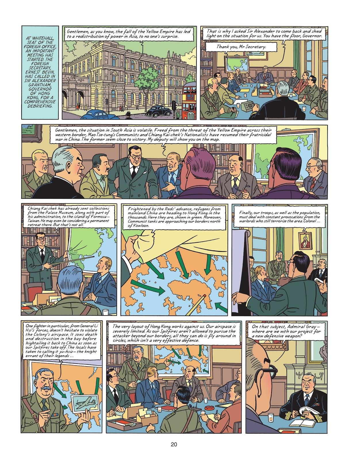 Read online Blake & Mortimer comic -  Issue #25 - 22