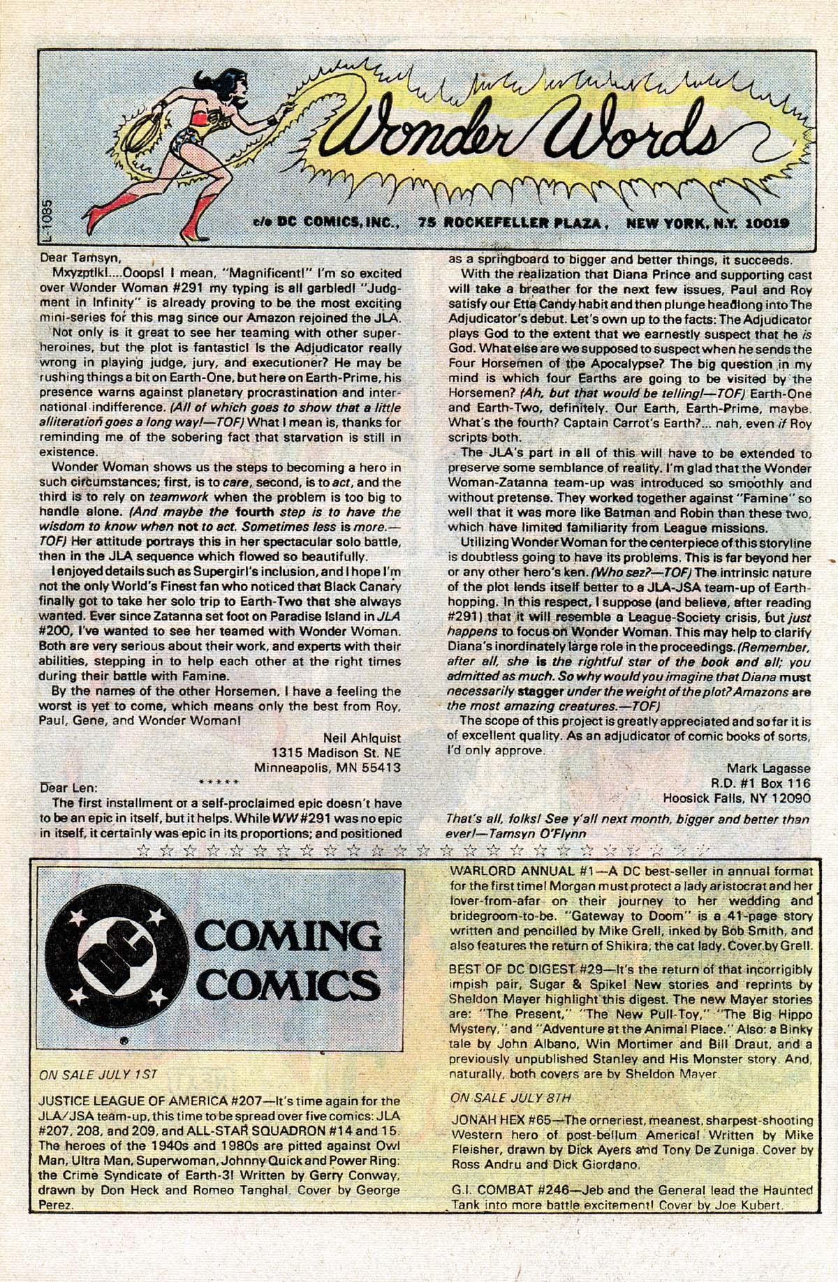 Read online Wonder Woman (1942) comic -  Issue #296 - 28