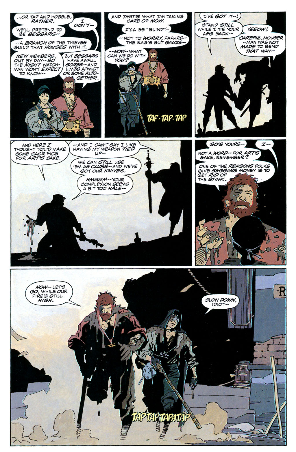 Read online Fafhrd and the Gray Mouser comic -  Issue #1 - 18
