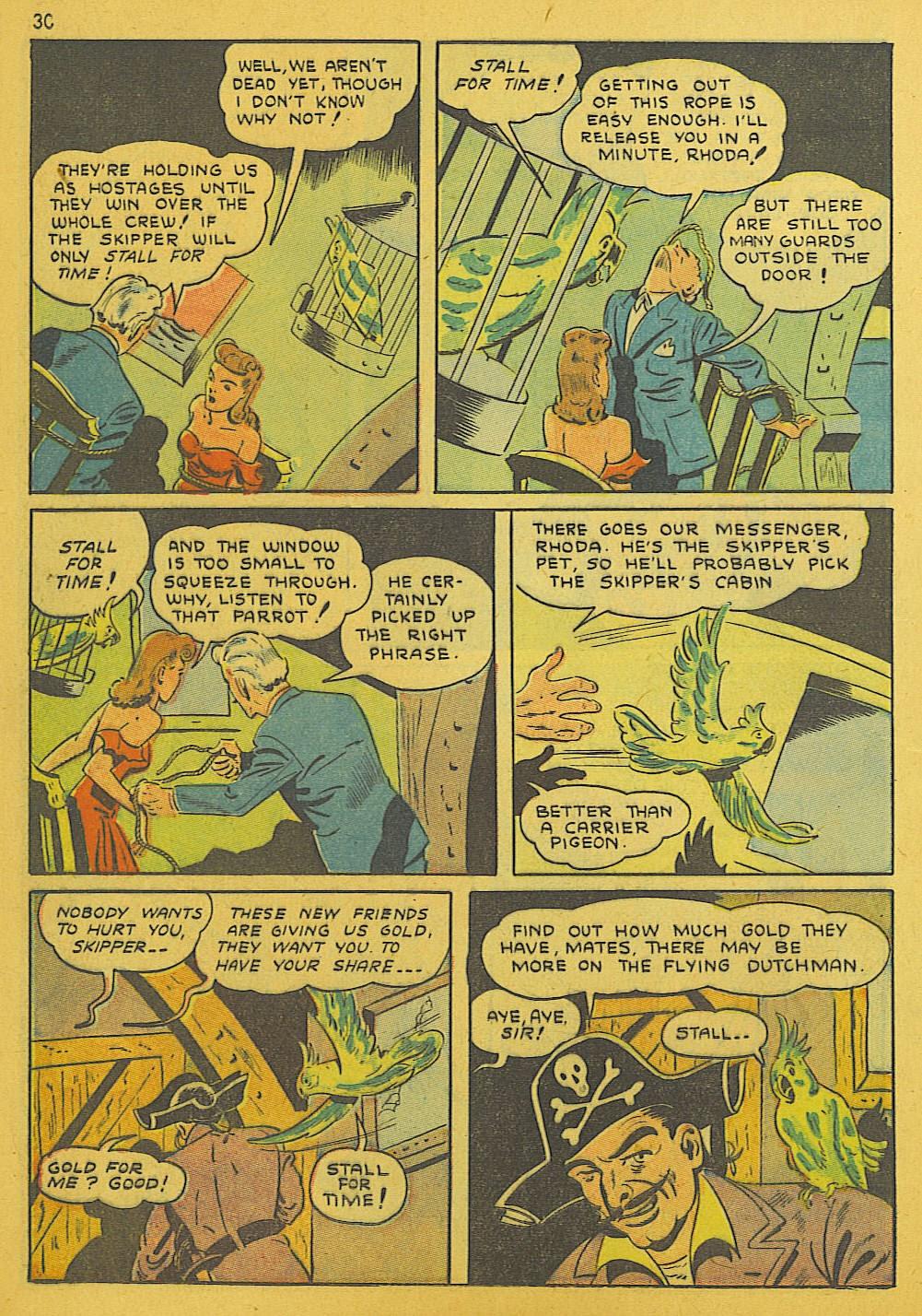 Read online Super-Magician Comics comic -  Issue #10 - 30