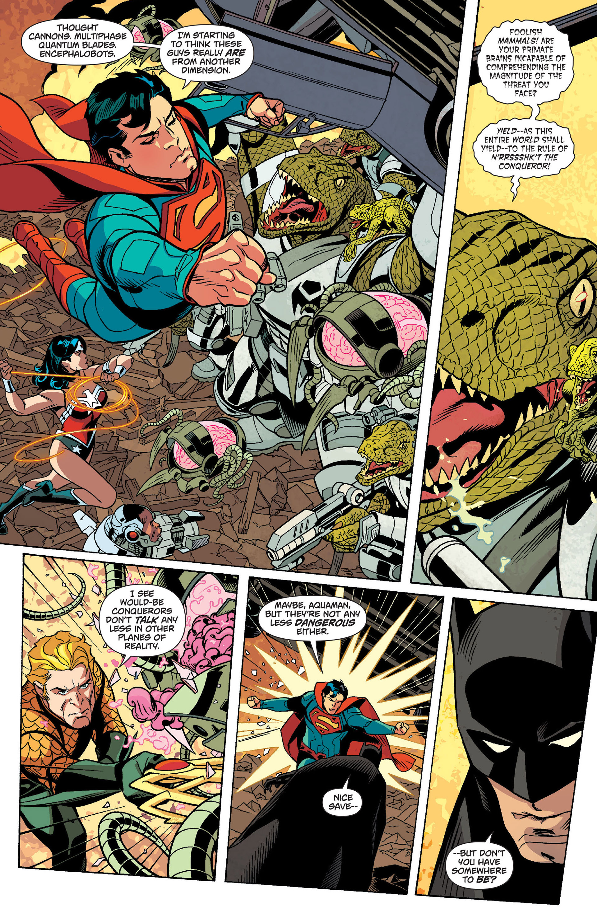 Read online Action Comics (2011) comic -  Issue #14 - 24