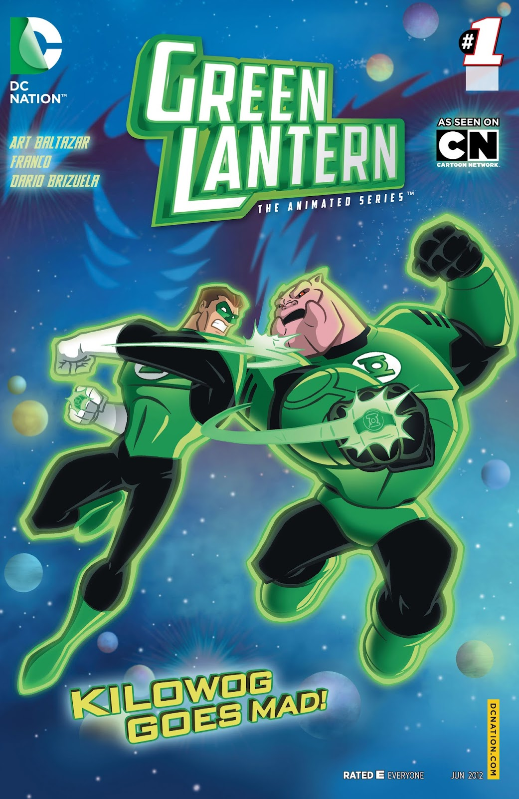 Green Lantern: The Animated Series 1 Page 1