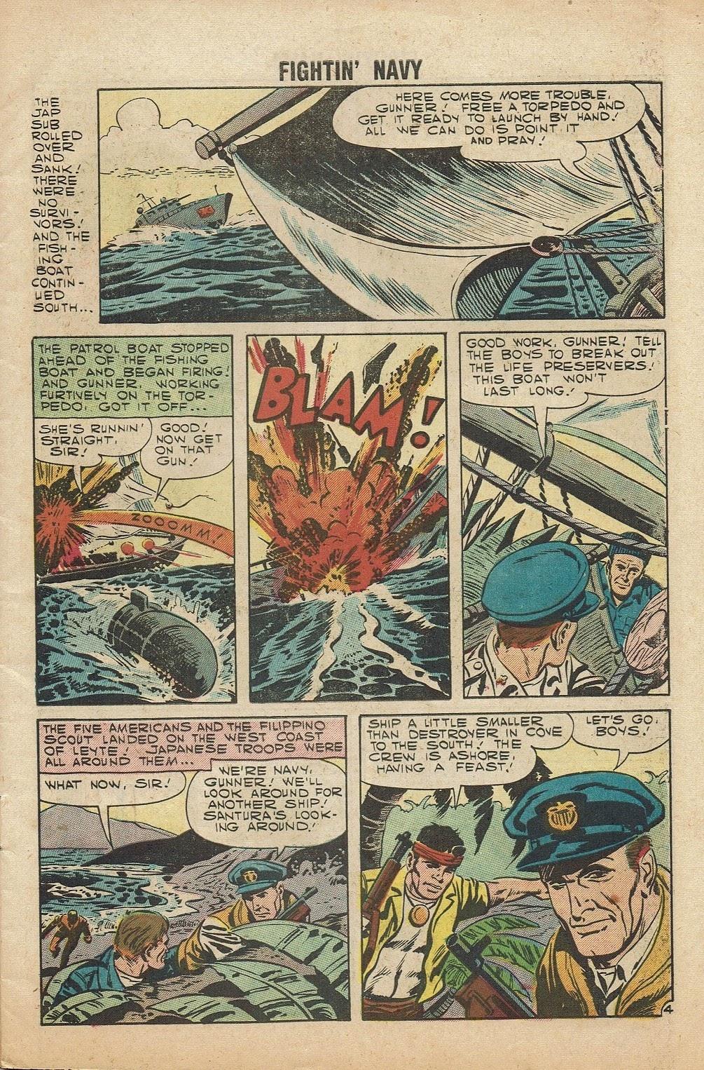 Read online Fightin' Navy comic -  Issue #81 - 7
