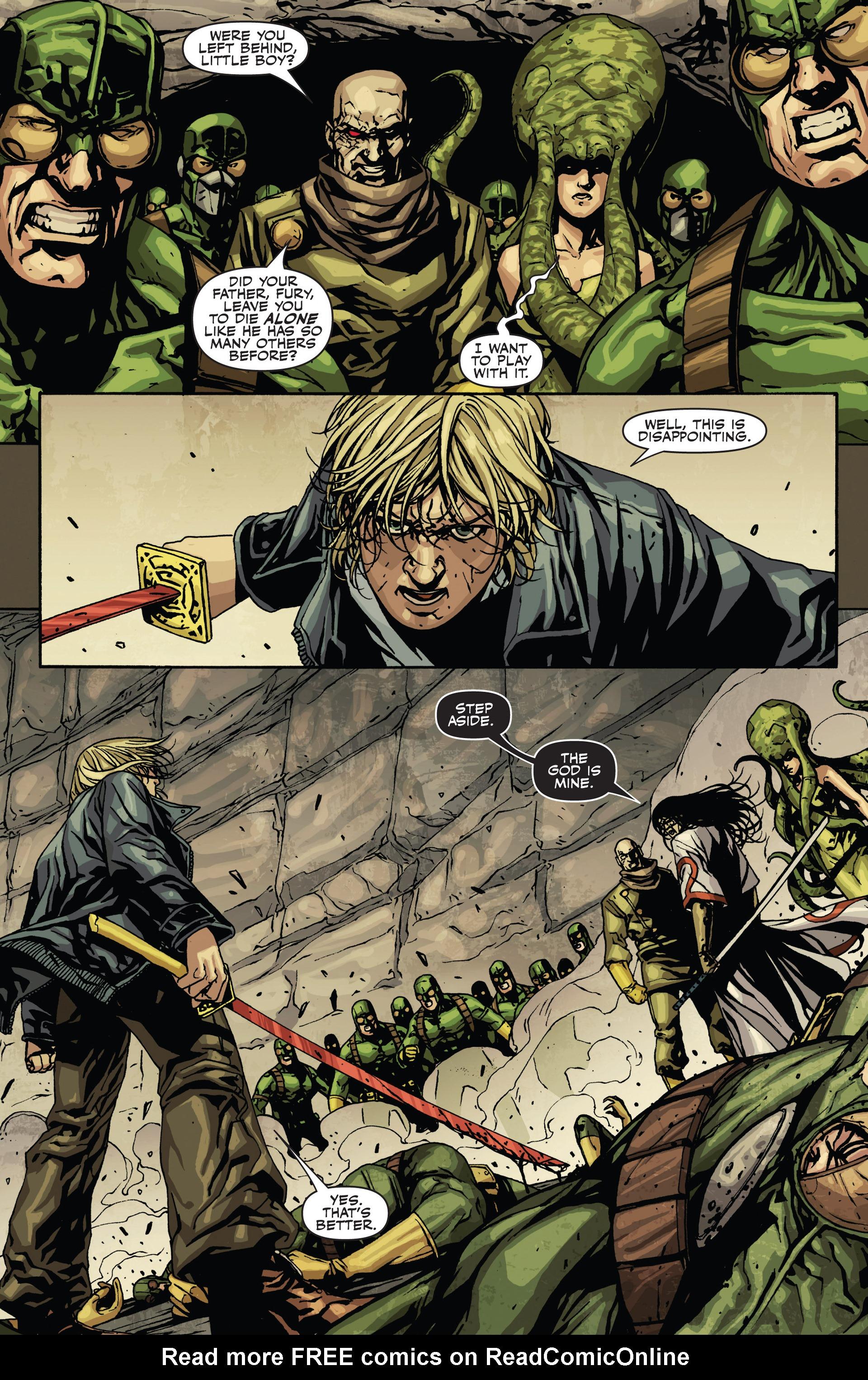 Read online Secret Warriors comic -  Issue #21 - 17