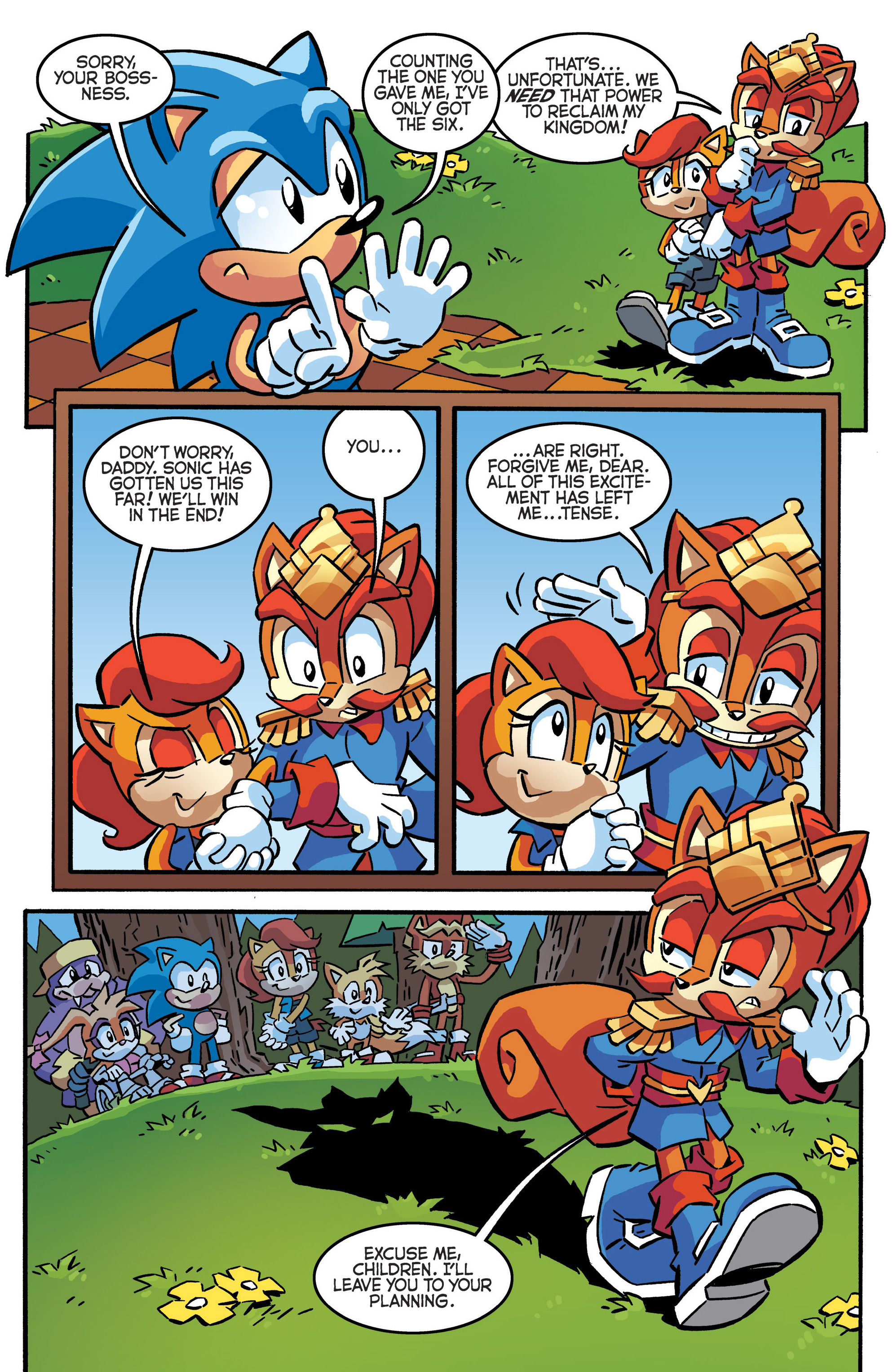 Read online Sonic The Hedgehog comic -  Issue #288 - 19
