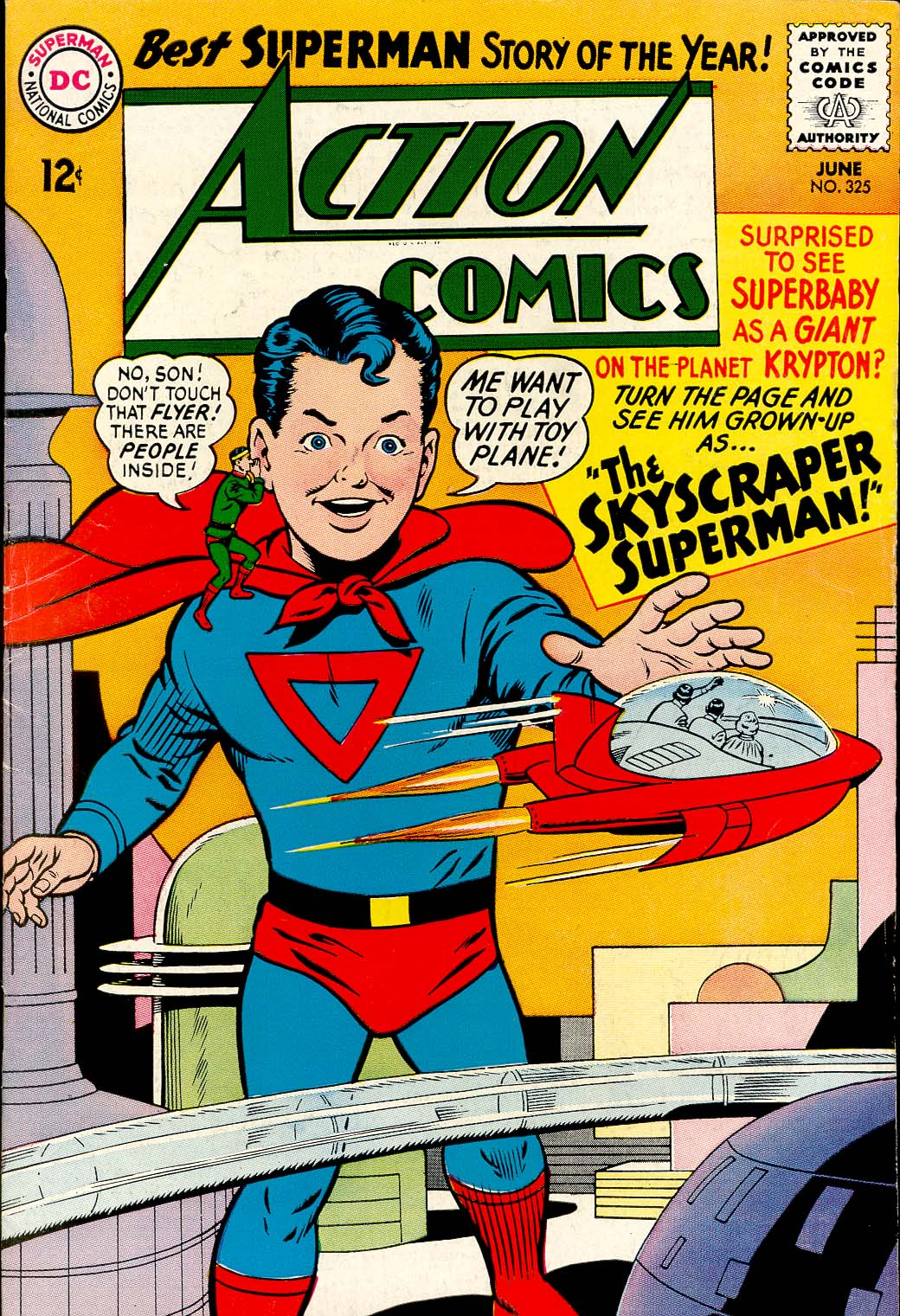 Read online Action Comics (1938) comic -  Issue #325 - 1