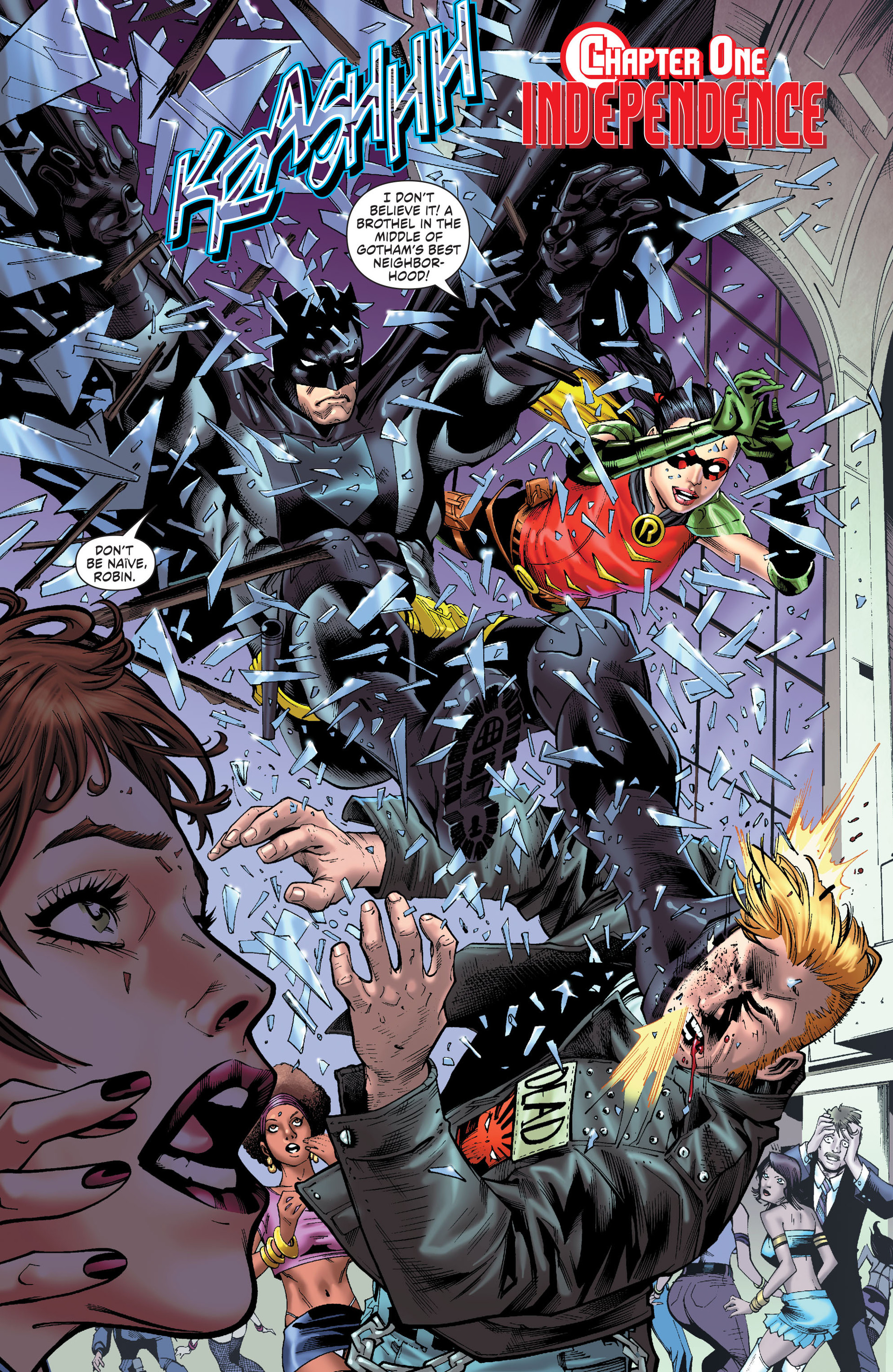 Read online Worlds' Finest comic -  Issue # _Annual 1 - 3