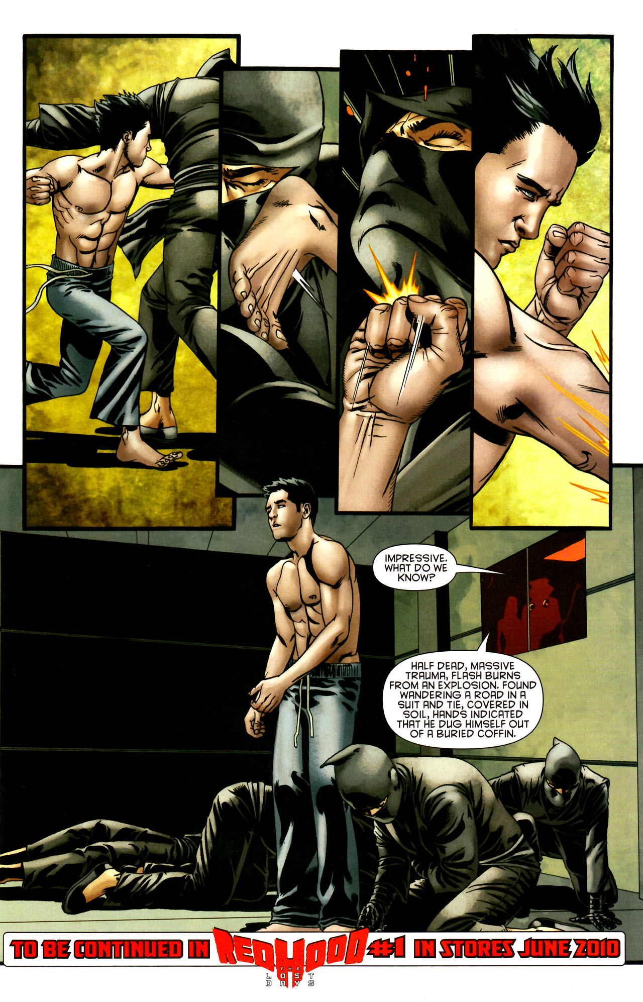 Read online Adventure Comics (2009) comic -  Issue #12 - 37
