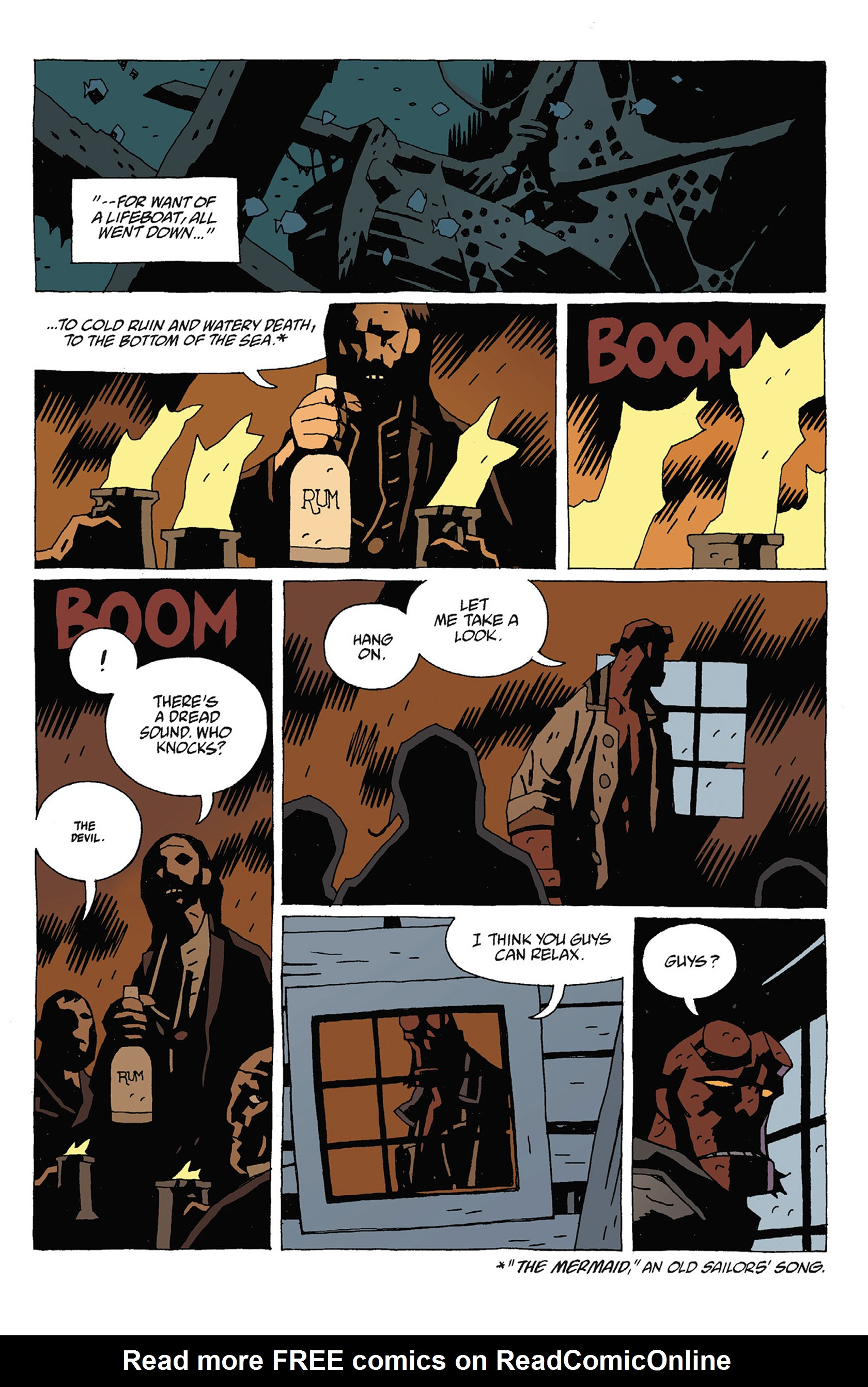 Read online Hellboy: Strange Places comic -  Issue # TPB - 73