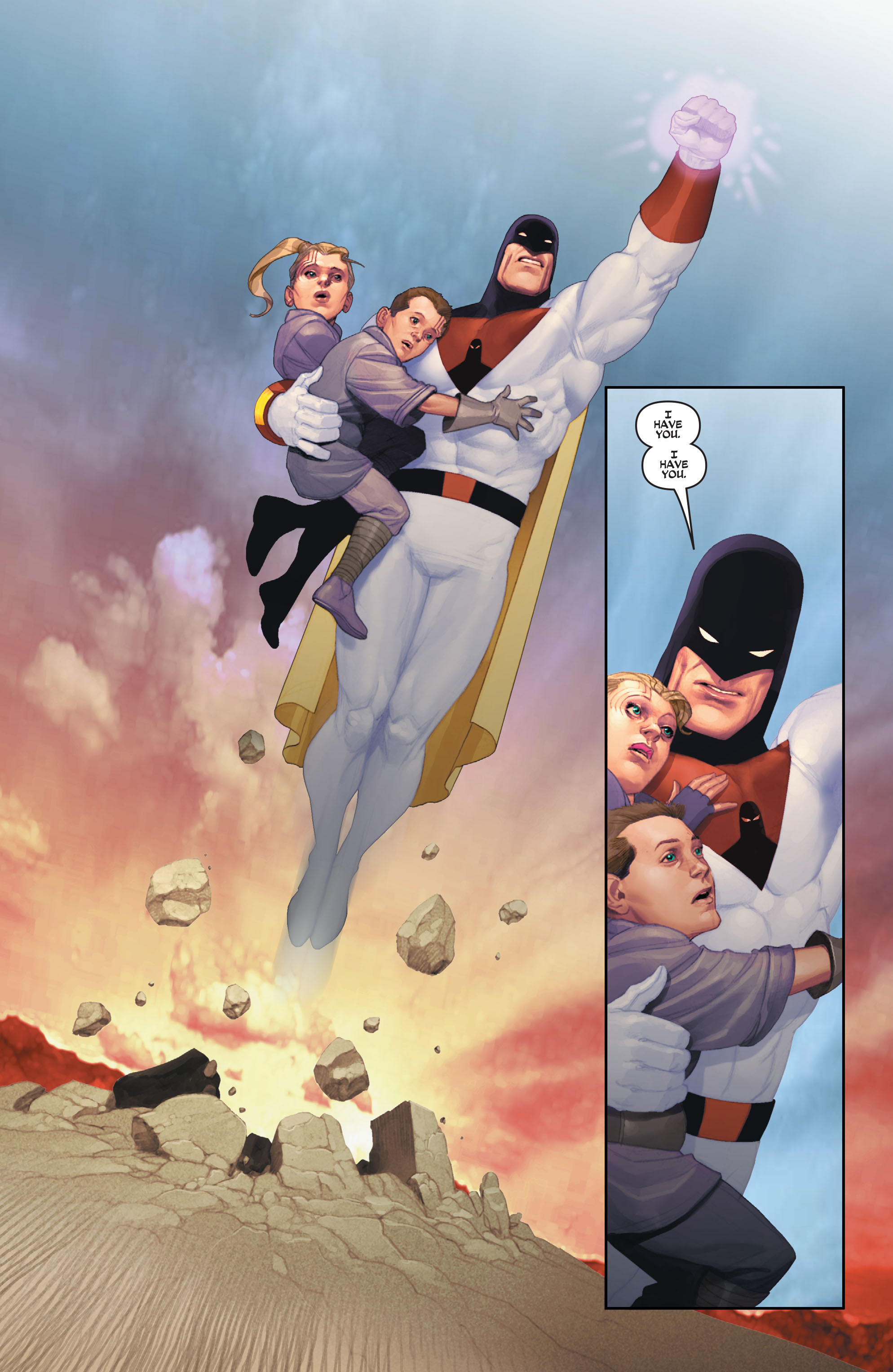 Read online Space Ghost (2016) comic -  Issue # Full - 87