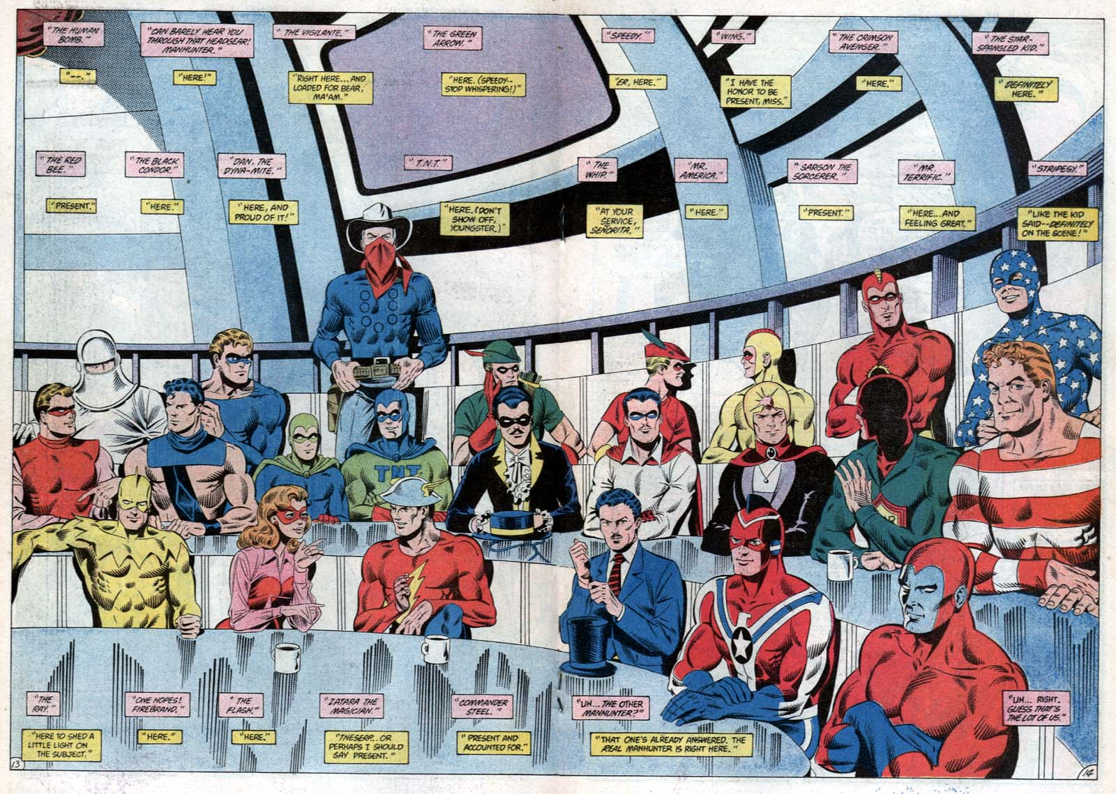 Read online All-Star Squadron comic -  Issue #31 - 20