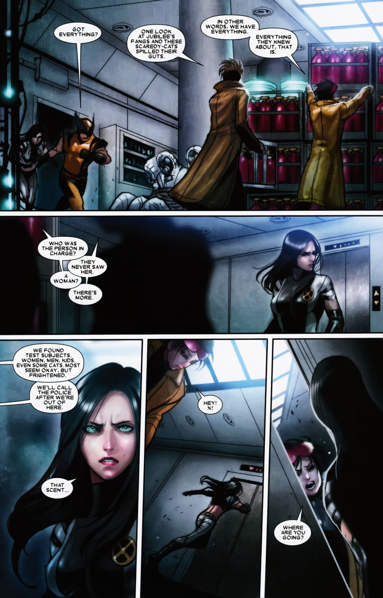 Read online X-23 (2010) comic -  Issue #11 - 19