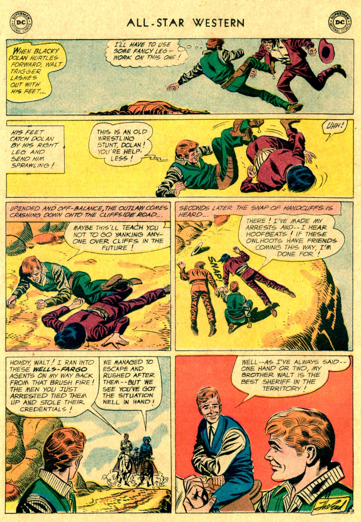 Read online All-Star Western (1951) comic -  Issue #112 - 32