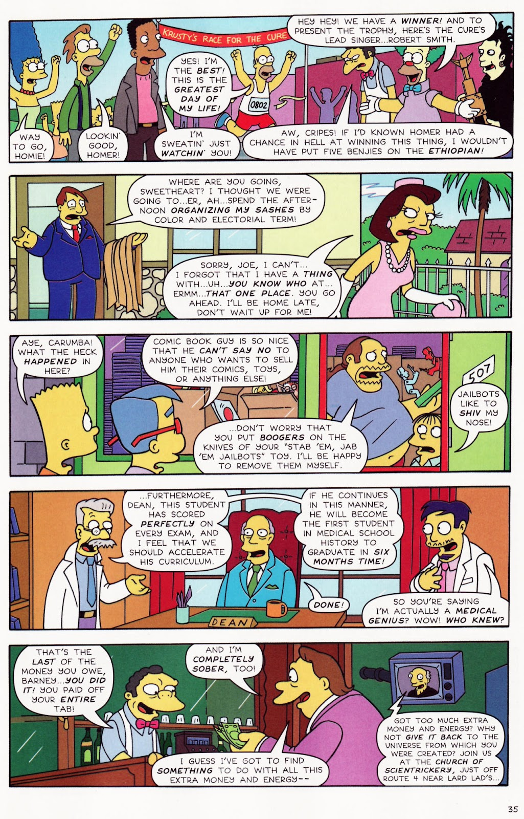 Read online The Simpsons Winter Wingding comic -  Issue #2 - 36