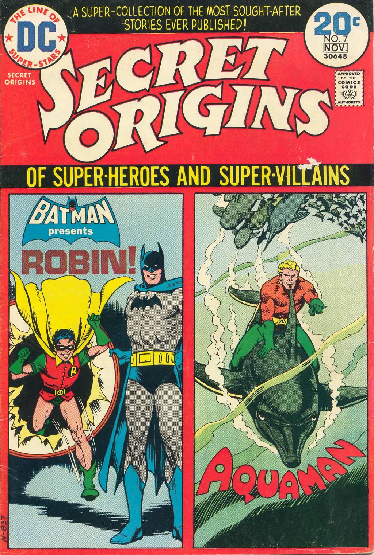 Read online Secret Origins (1973) comic -  Issue #7 - 1