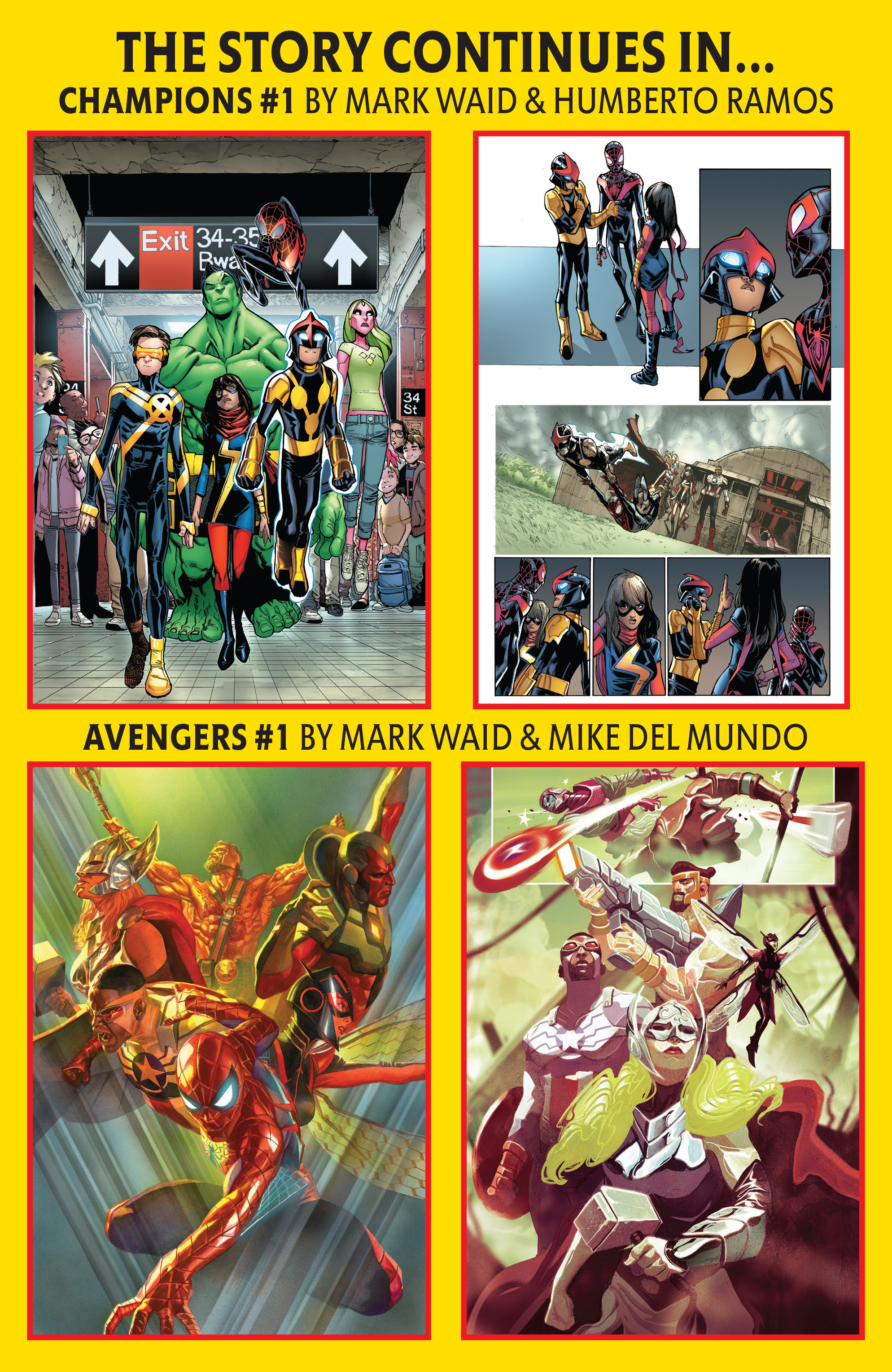 Read online All-New, All-Different Avengers comic -  Issue #15 - 15