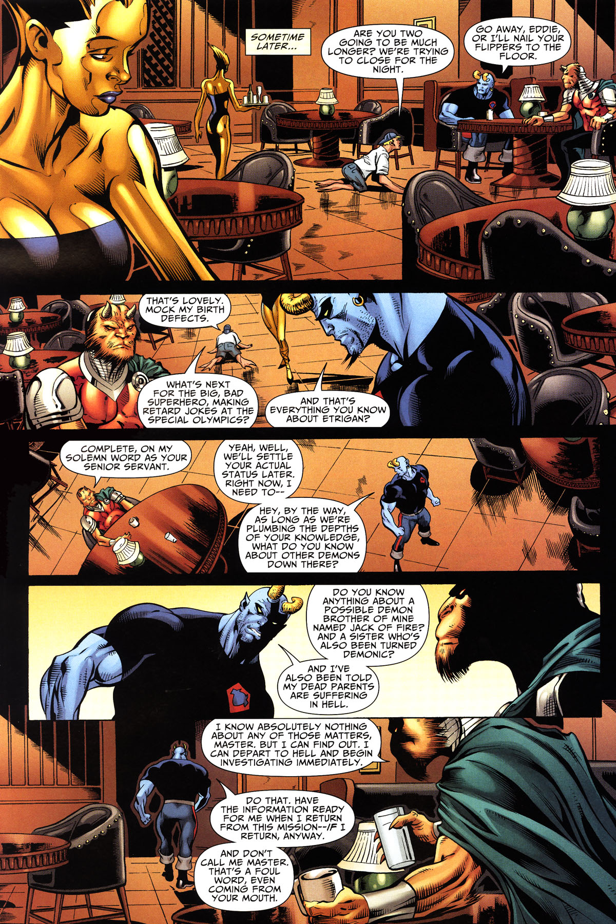 Read online Shadowpact comic -  Issue #10 - 19
