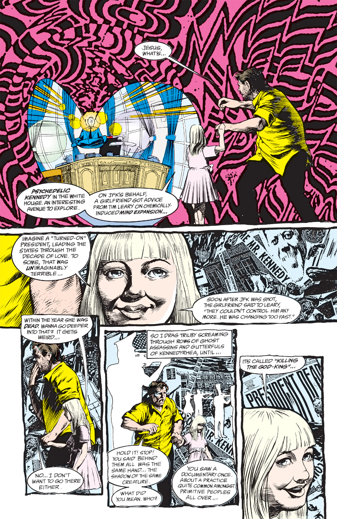 Read online Shade, the Changing Man comic -  Issue #3 - 19