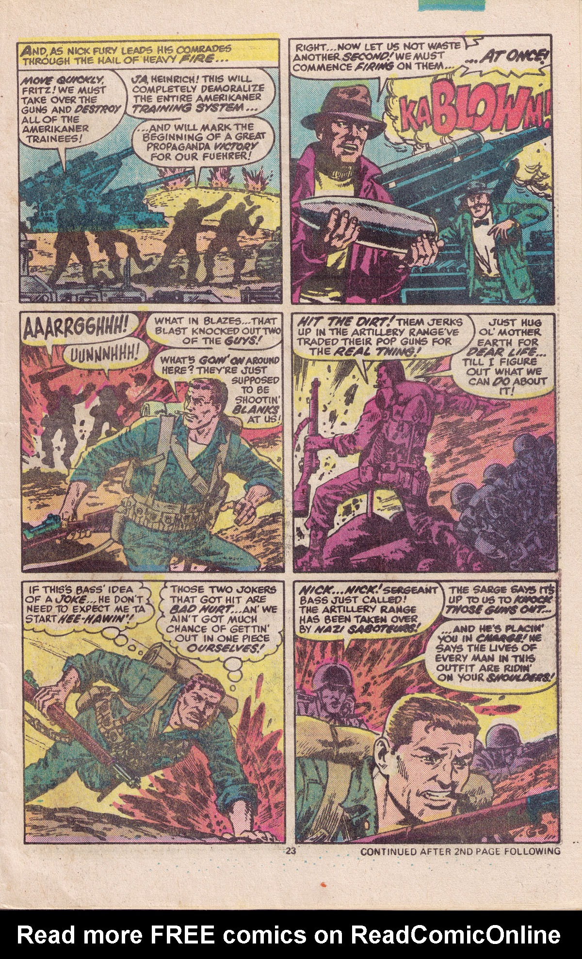 Read online Sgt. Fury comic -  Issue #158 - 25
