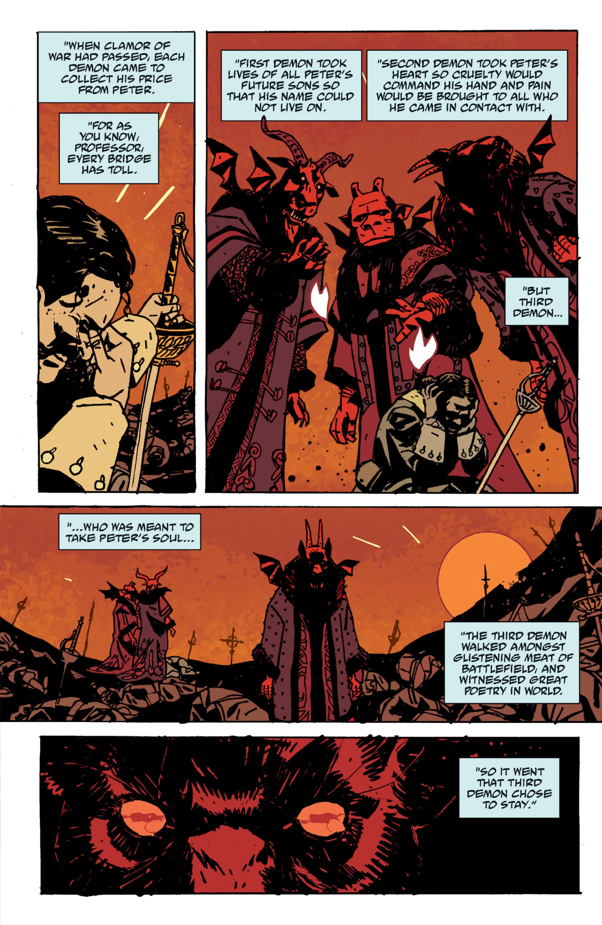 Read online B.P.R.D. (2003) comic -  Issue # TPB 9 - 56