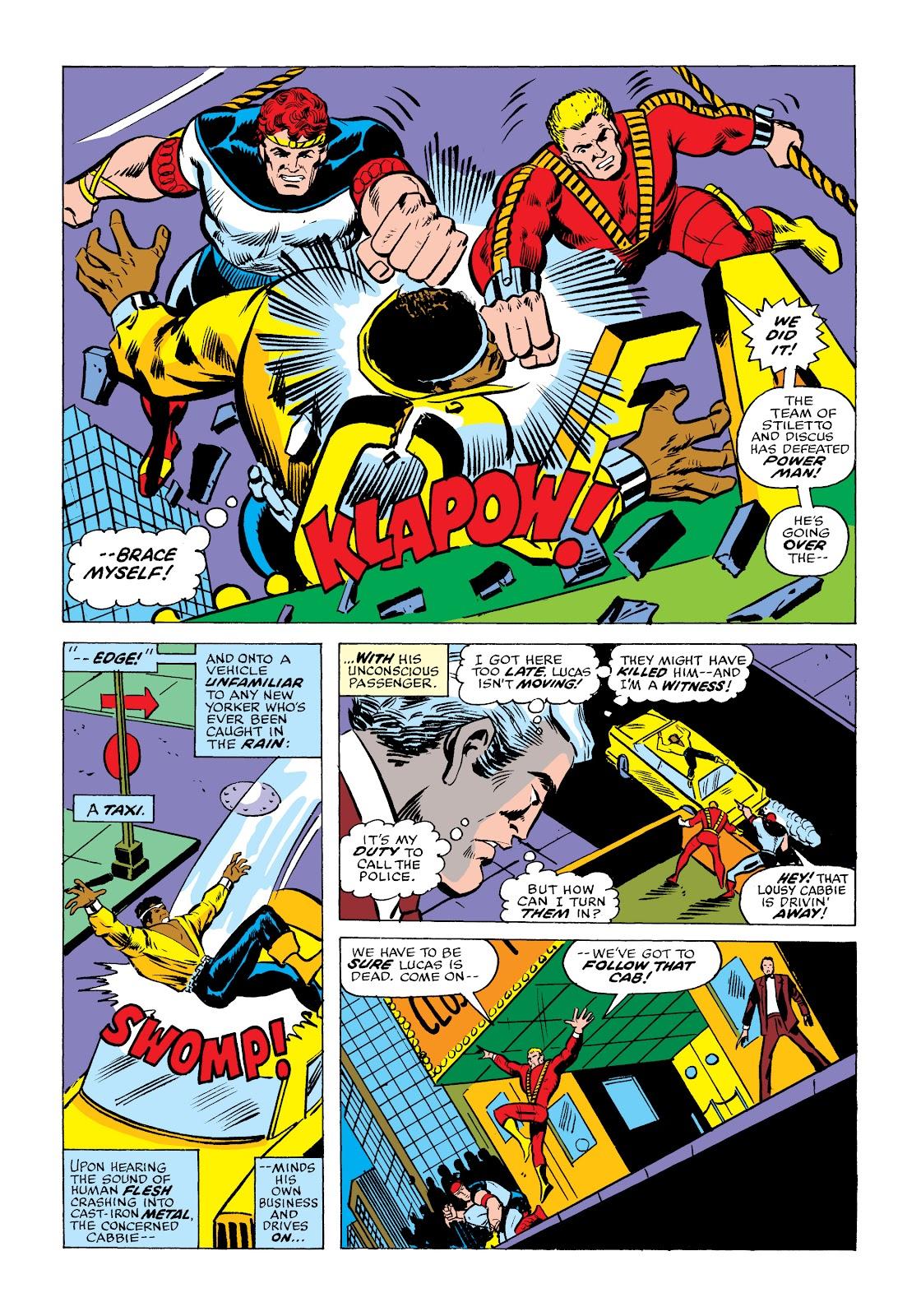 Read online Marvel Masterworks: Luke Cage, Power Man comic -  Issue # TPB 2 (Part 2) - 16