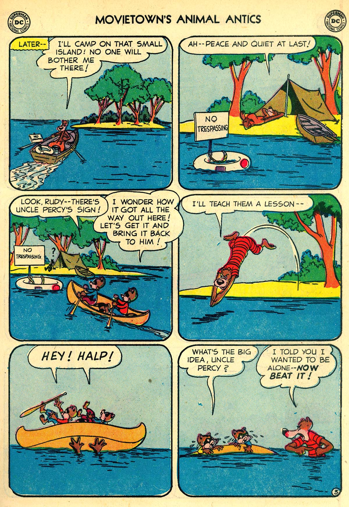 Read online Animal Antics comic -  Issue #33 - 47
