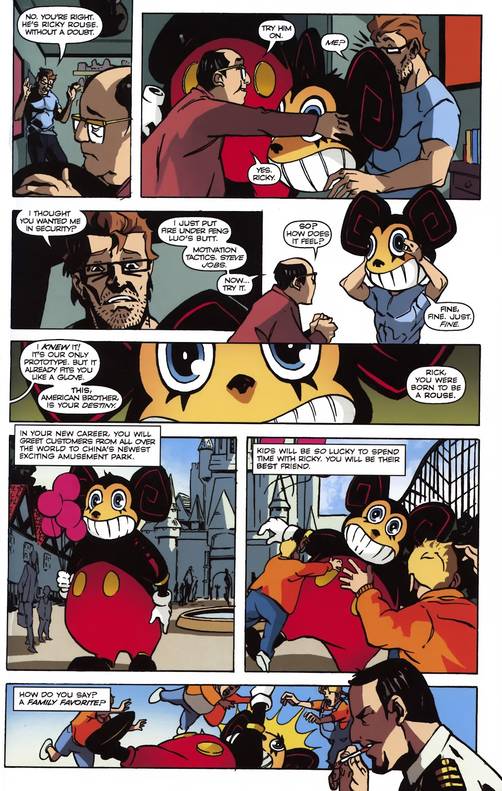 Read online Ricky Rouse Has A Gun comic -  Issue # TPB (Part 1) - 36