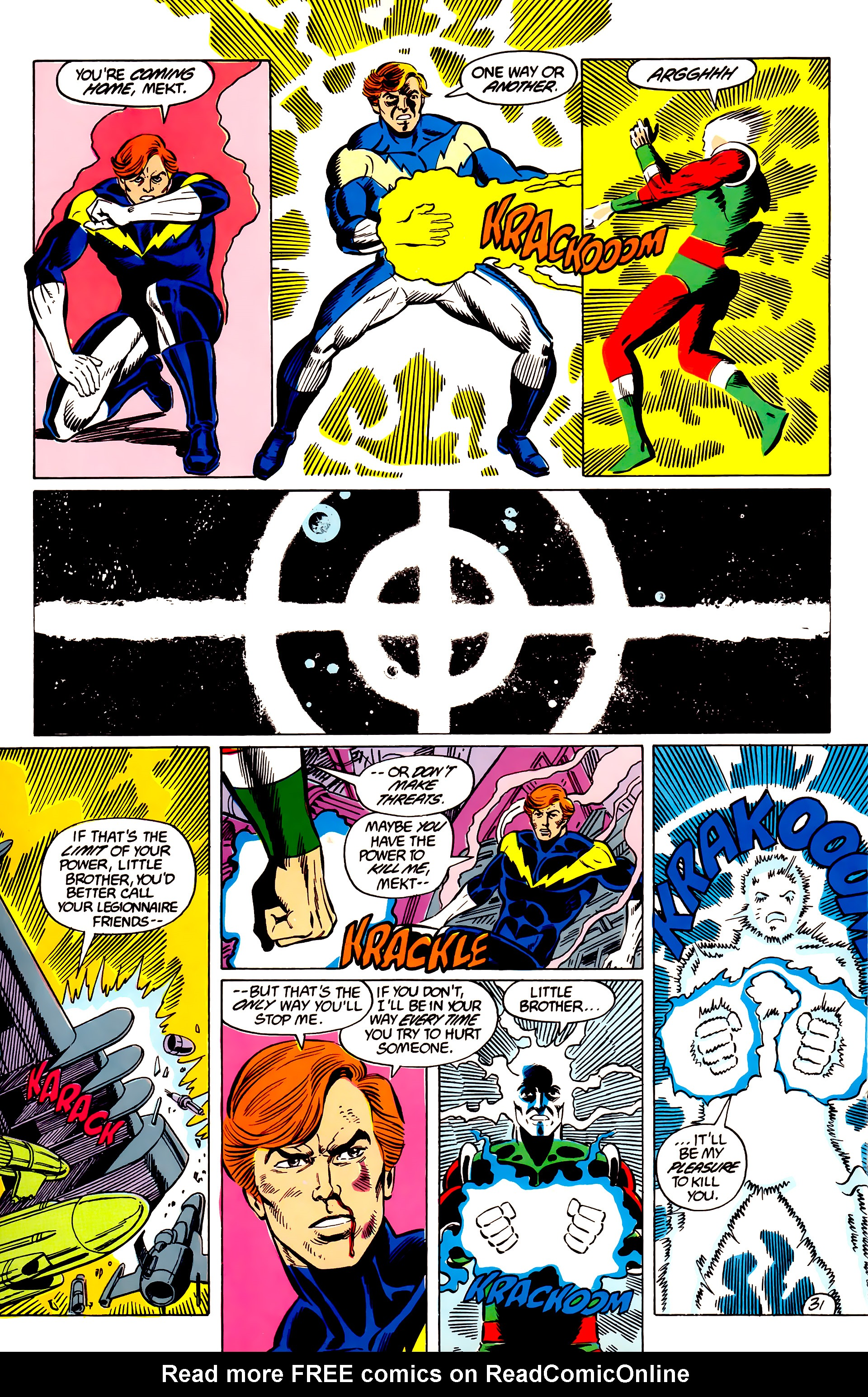 Legion of Super-Heroes (1984) 45 Page 31