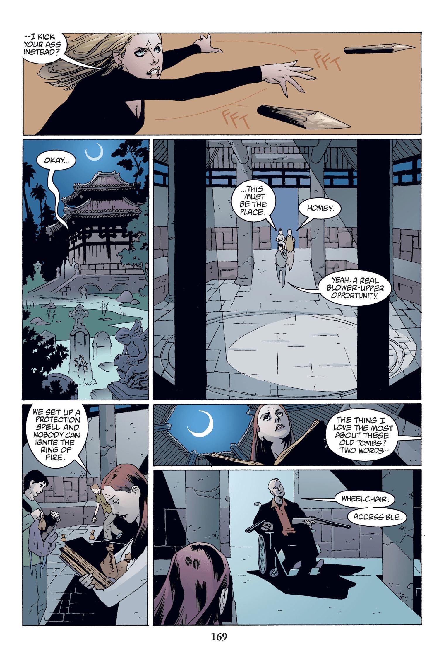 Read online Buffy the Vampire Slayer: Omnibus comic -  Issue # TPB 2 - 163