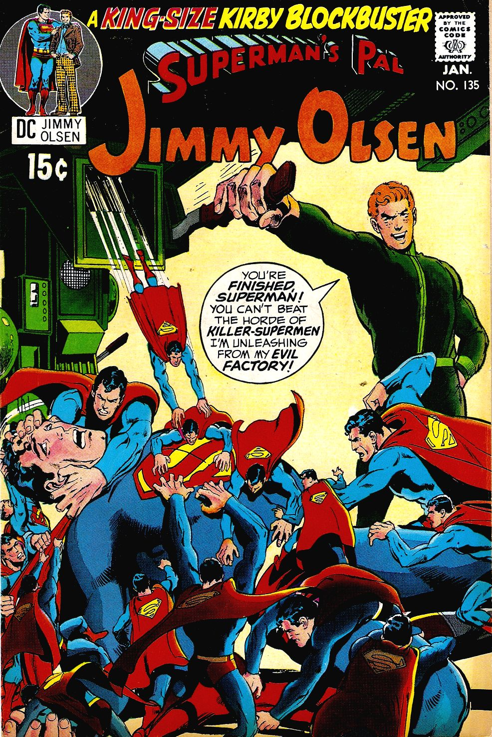 Supermans Pal Jimmy Olsen (1954) 135 Page 1