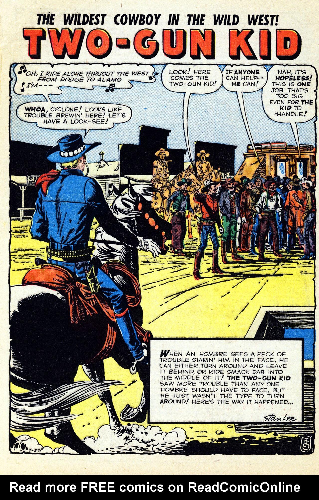 Read online Two-Gun Kid comic -  Issue #52 - 28