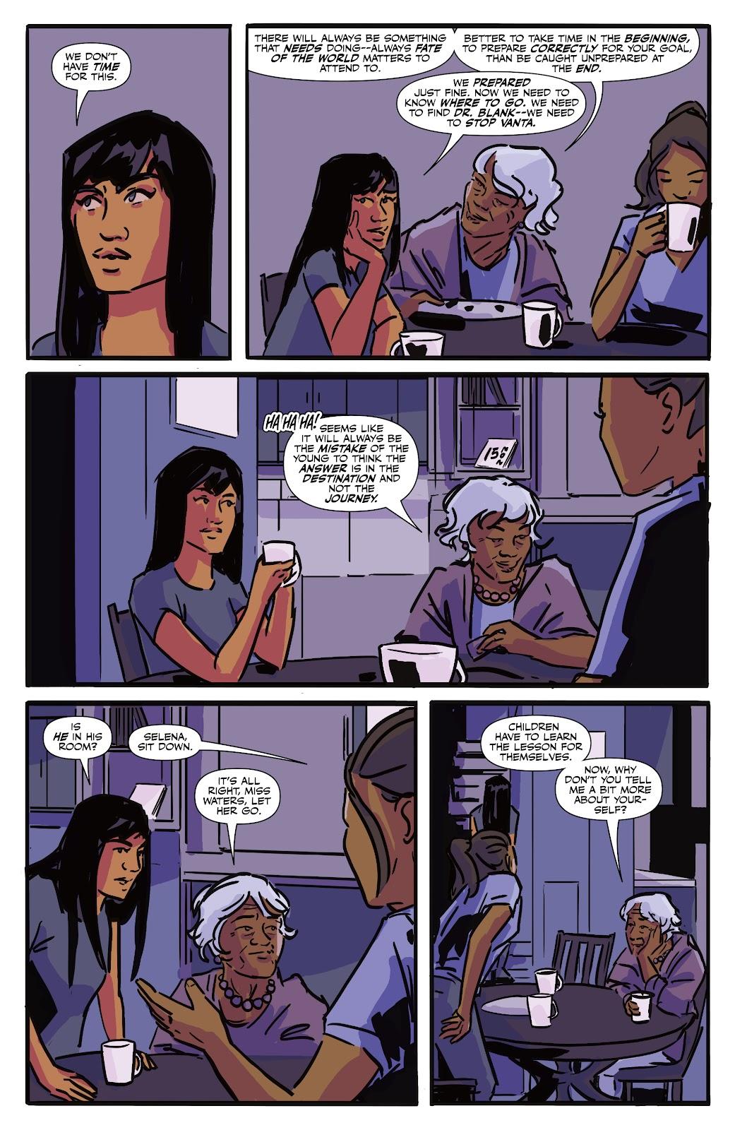 Read online Black (AF): Devil's Dye comic -  Issue #3 - 4