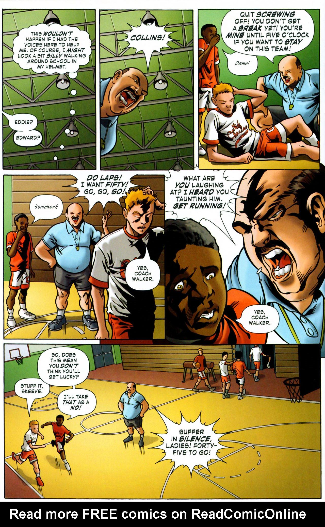 Read online ShadowHawk (2005) comic -  Issue #1 - 18