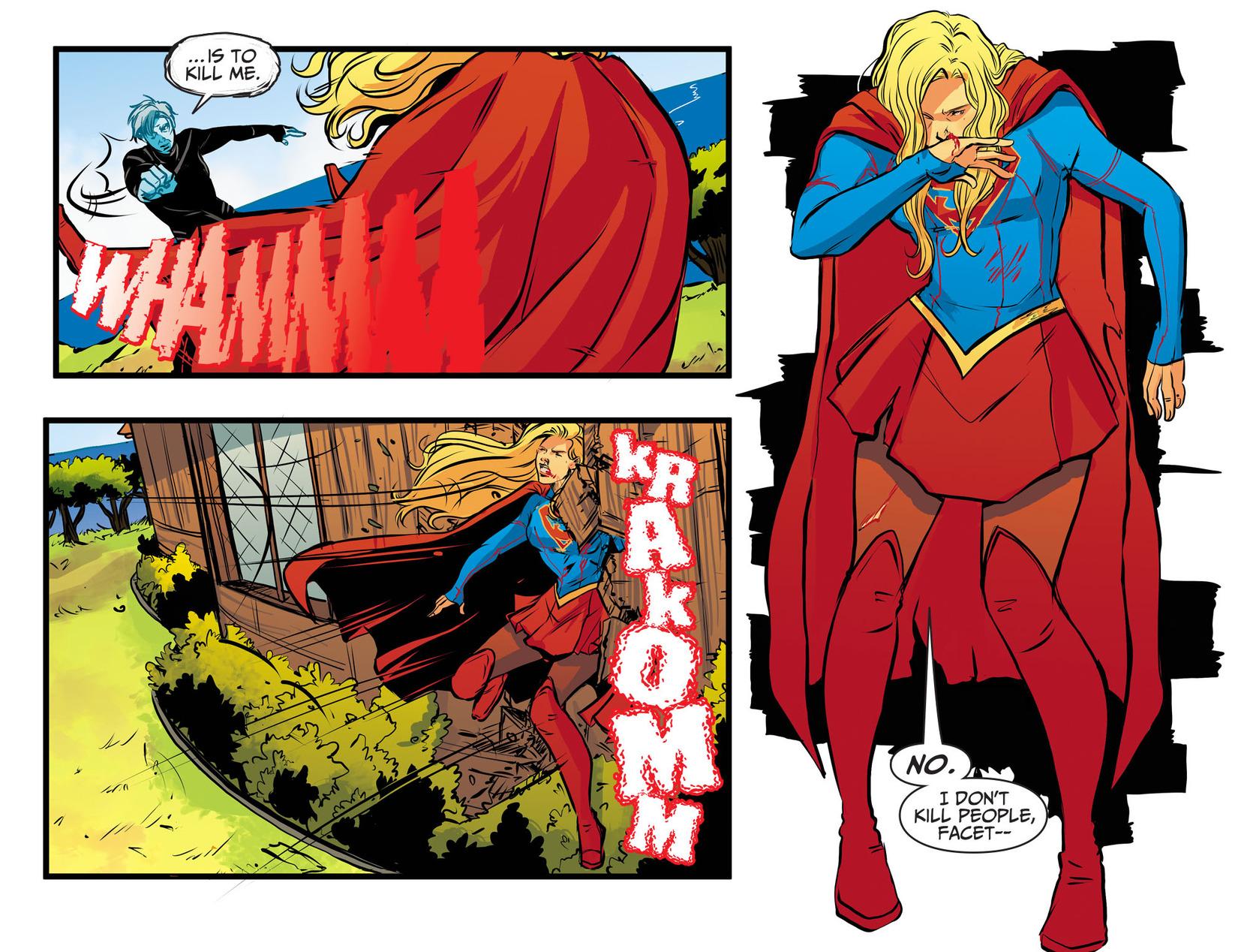 Read online Adventures of Supergirl comic -  Issue #13 - 10