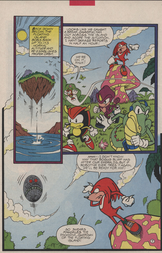 Read online Sonic Quest - The Death Egg Saga comic -  Issue #3 - 12