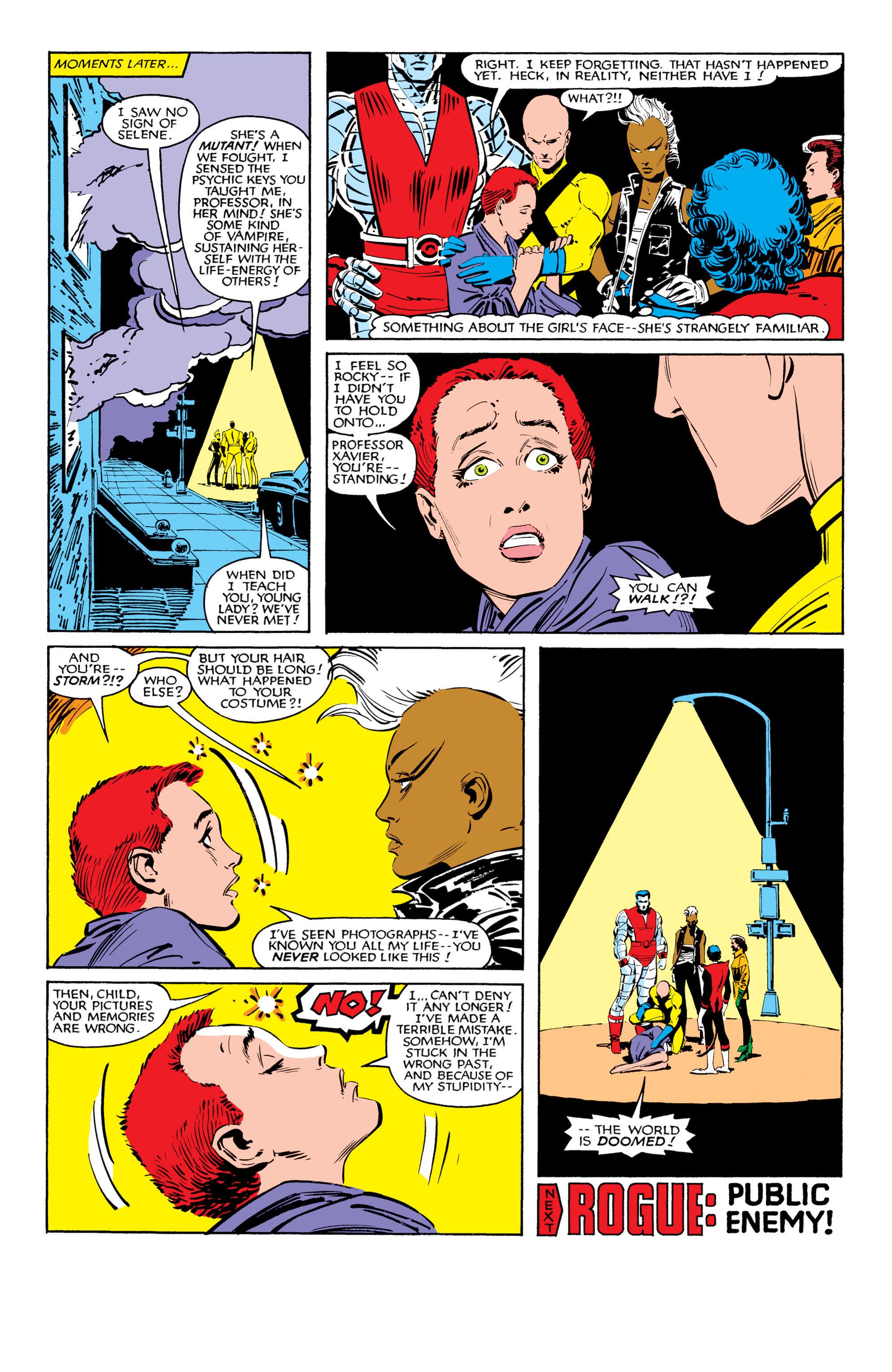 Read online Uncanny X-Men (1963) comic -  Issue #184 - 22