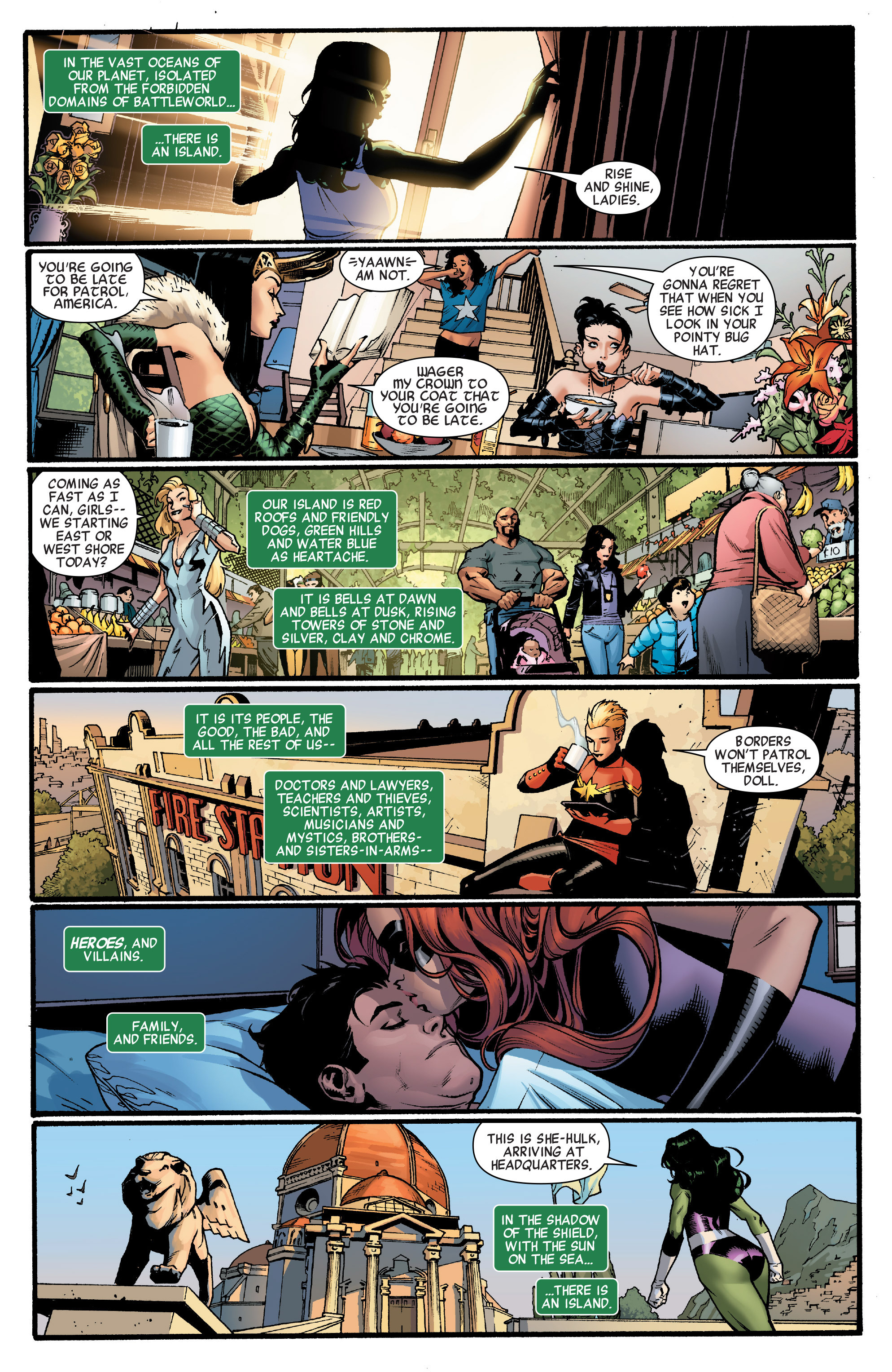 Read online A-Force (2015) comic -  Issue #1 - 2