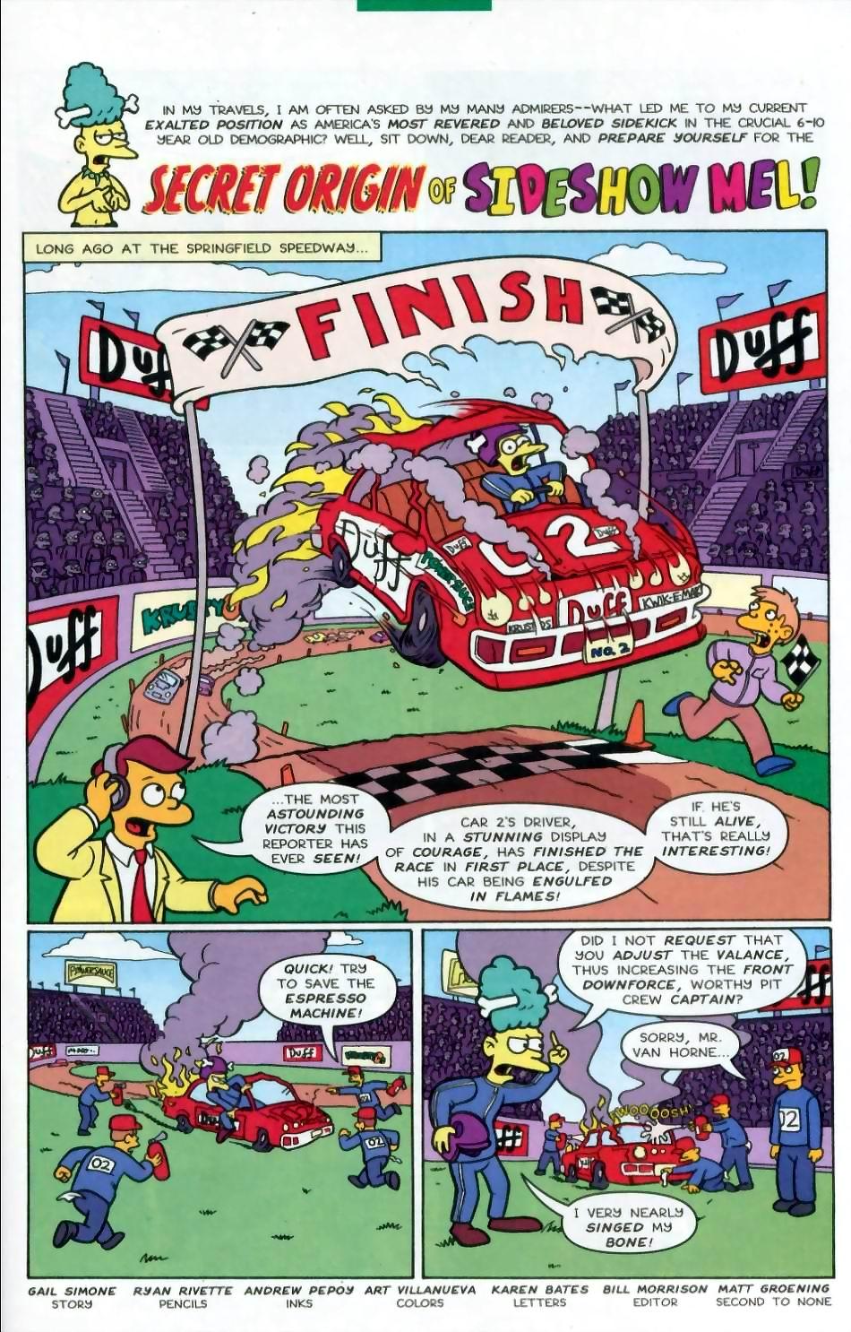 Read online Simpsons Comics comic -  Issue #72 - 23