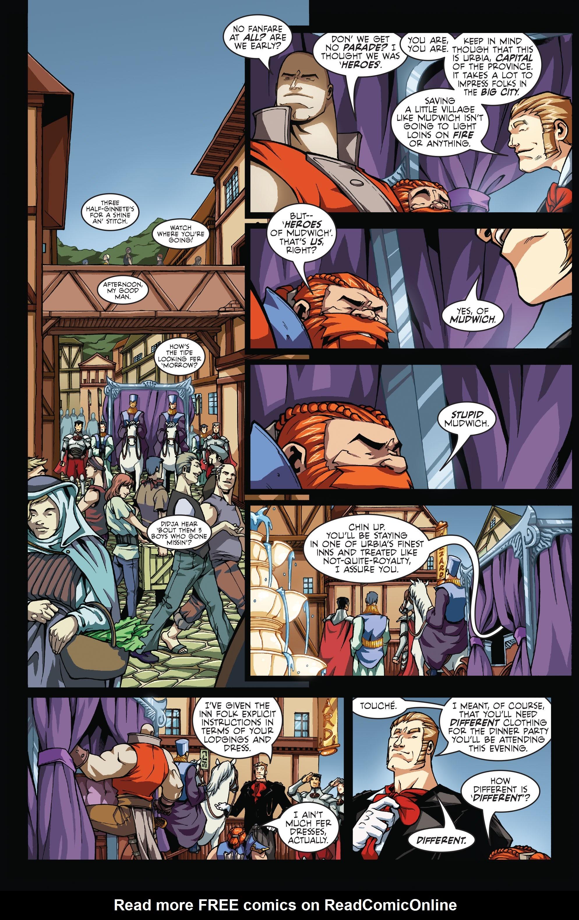 Read online Skullkickers comic -  Issue #7 - 9